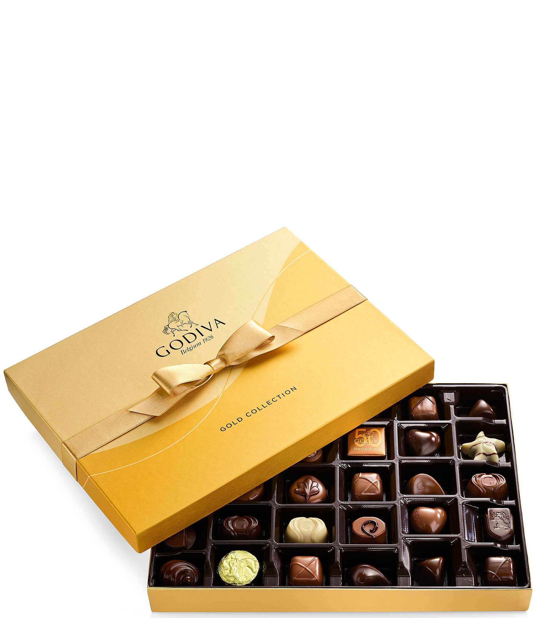 Godiva Chocolatier 36 Piece Chocolate Gold Gift Box Dillards