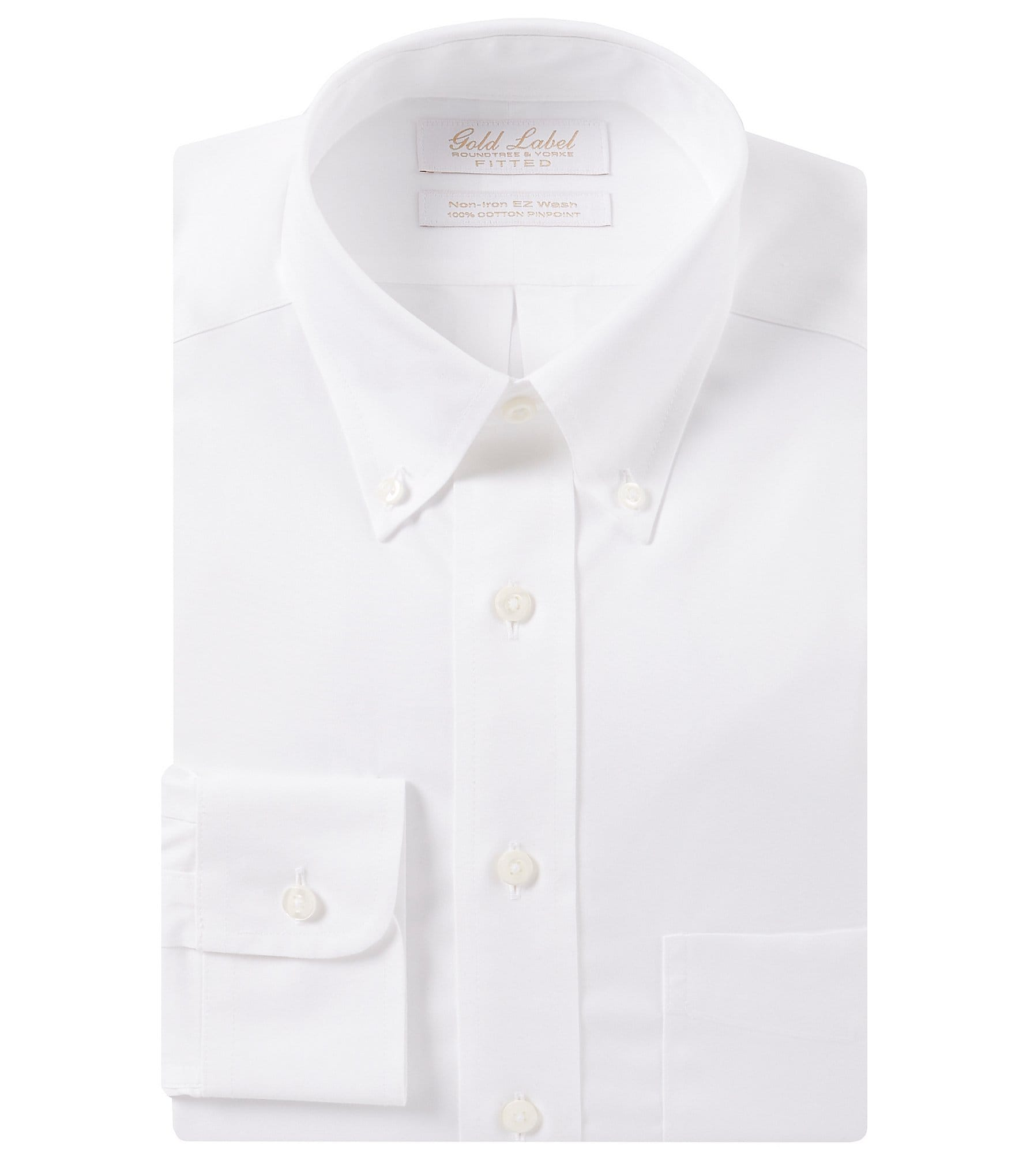 Gold Label Roundtree Yorke Non Iron Fitted Button Down