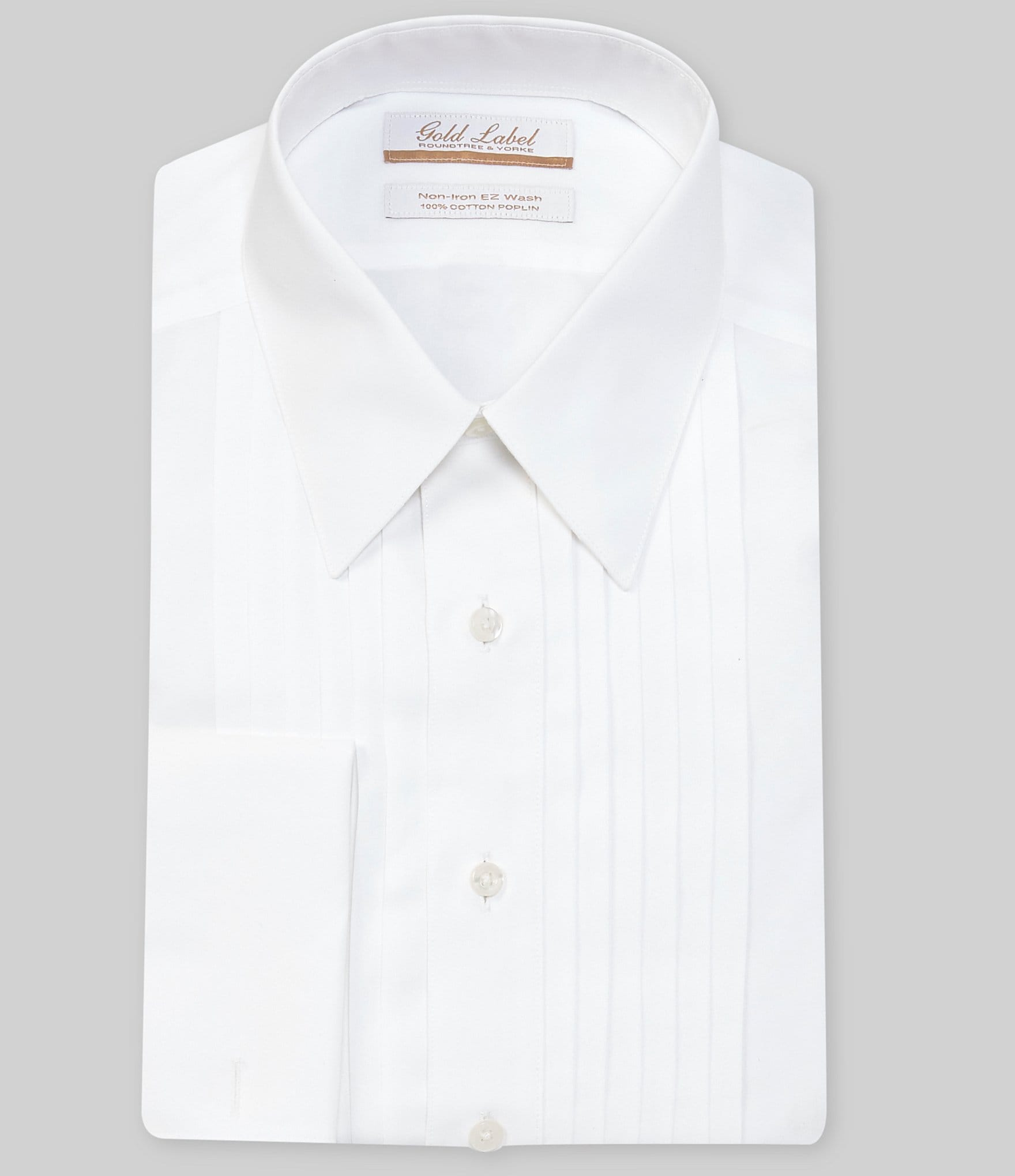 Gold Label Roundtree Yorke Non Iron Regular Full Fit