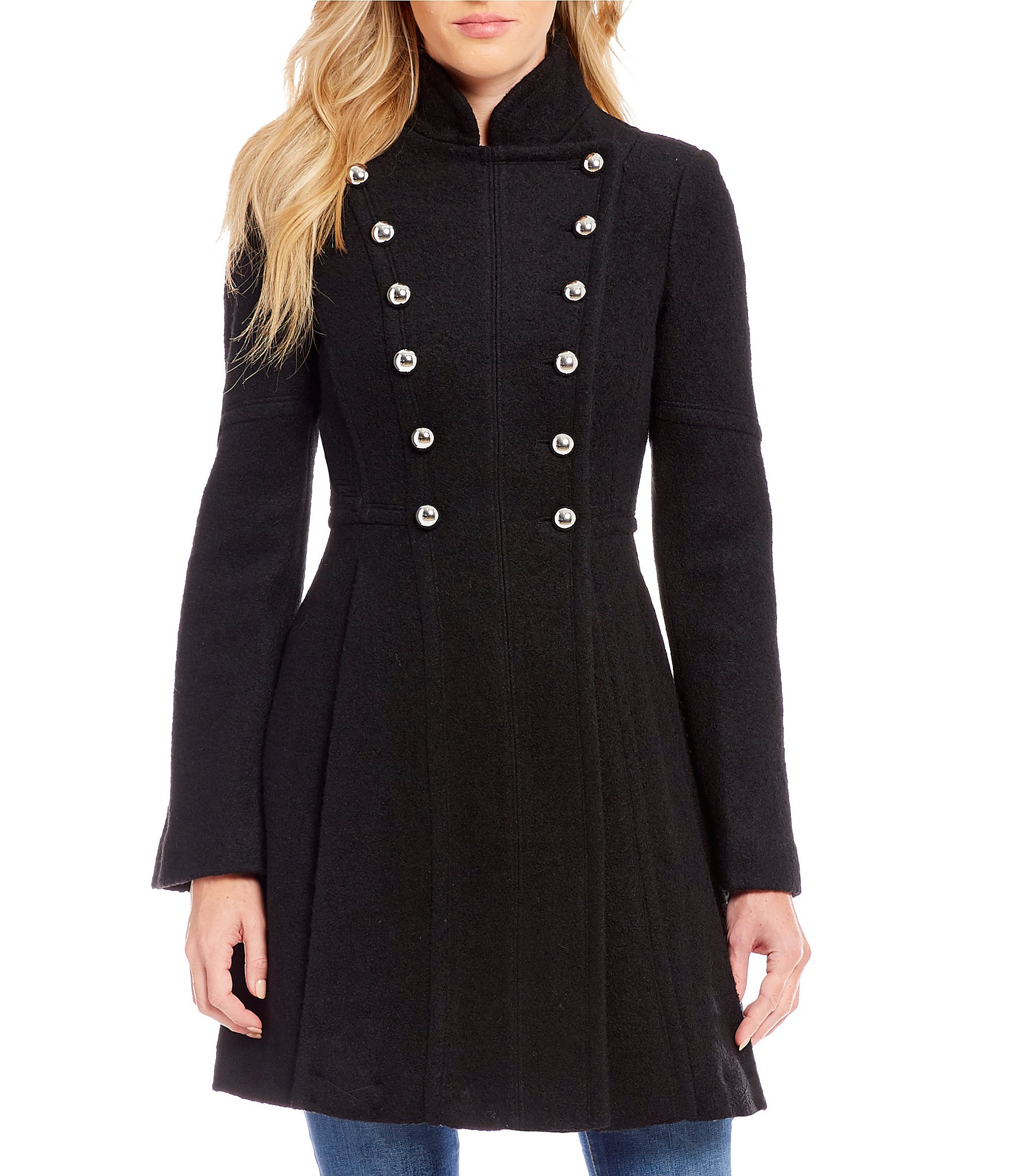 Ladies Wool Blend Coats Han Coats