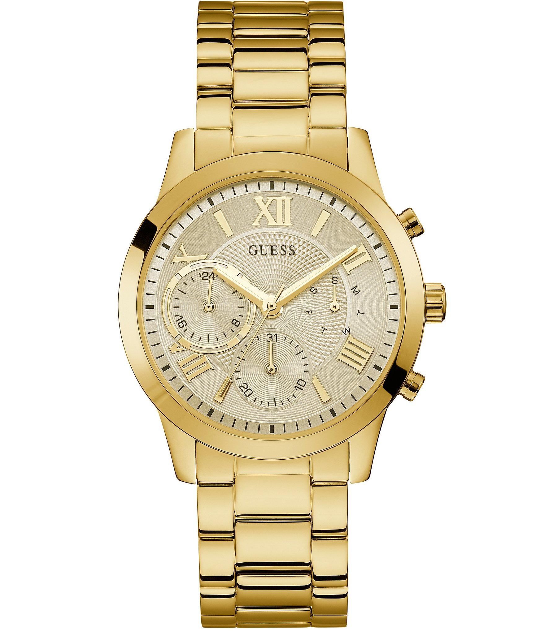 seleziona per genuino originale più votato trova il prezzo più basso Guess Solar Multifunction Bracelet Watch   Dillard's