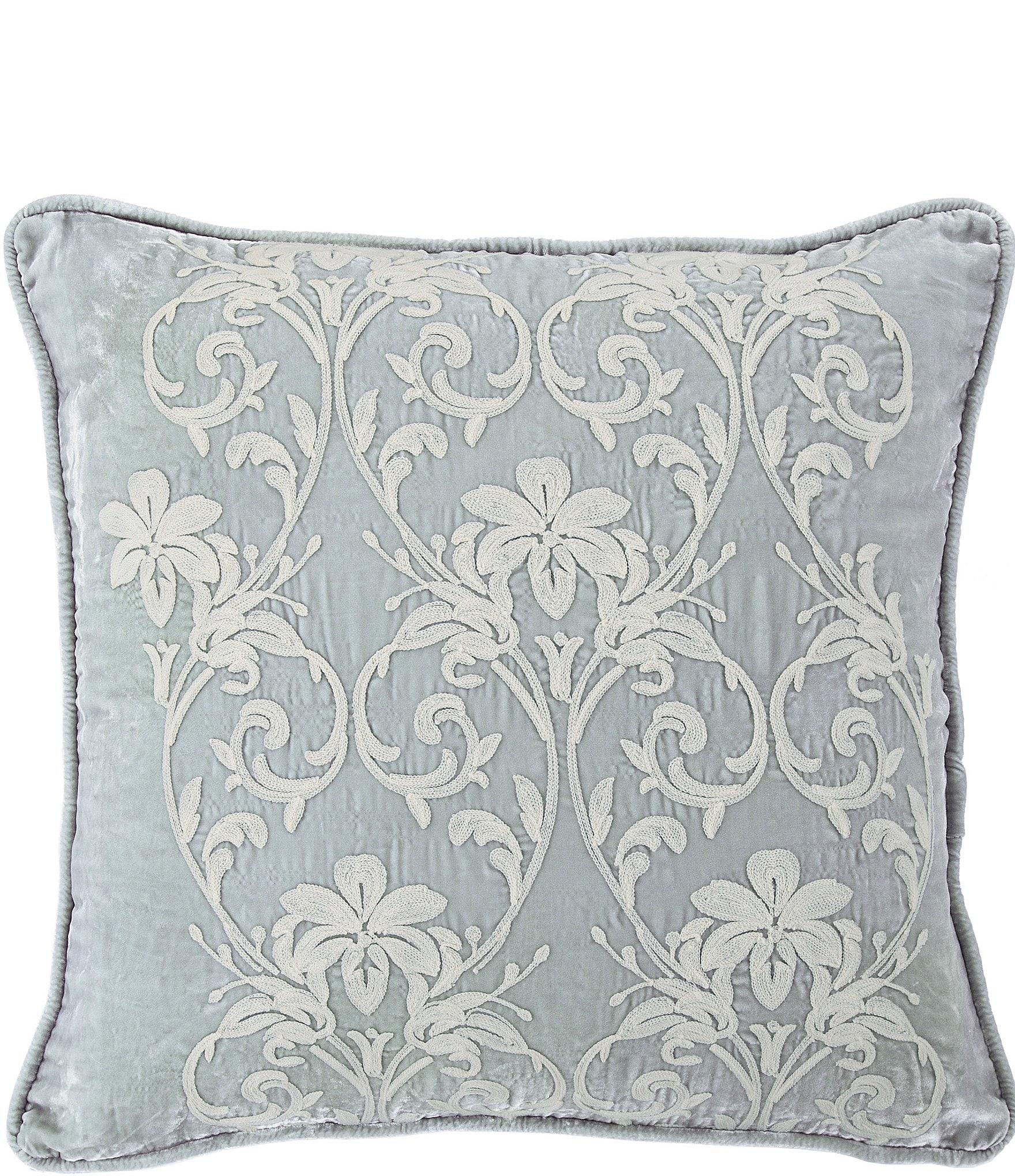 Hiend Accents Embroidery Velvet Euro Sham Dillard S