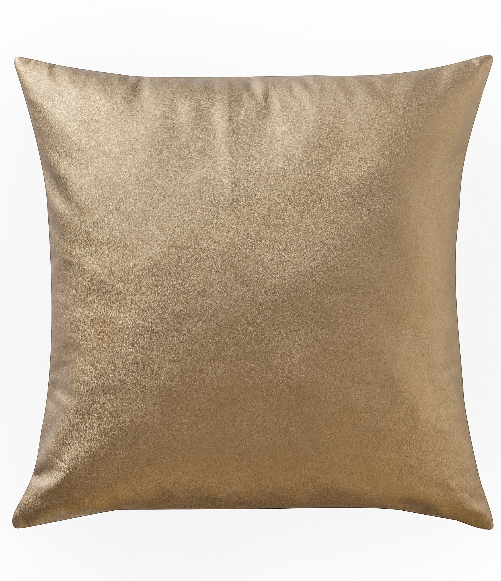 Faux Deerskin Pillow : Highline Bedding Co. Windham Faux-Leather Pillow Dillards
