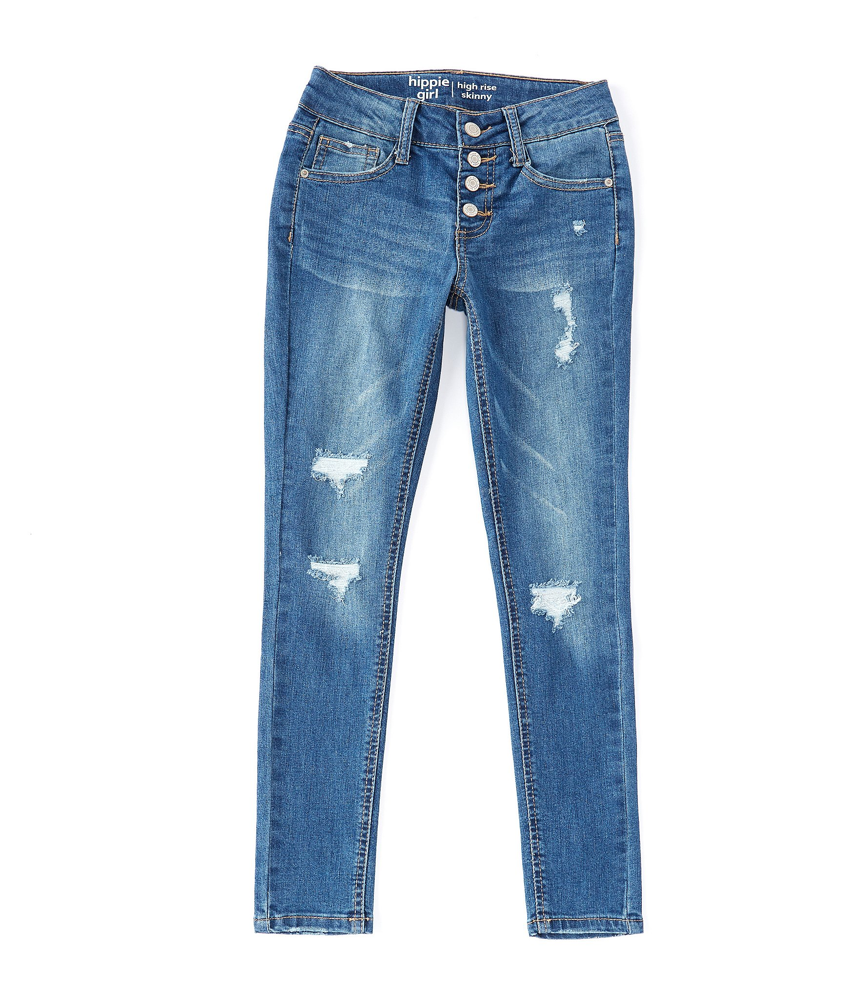 Here's a Great Price on GUESS Girls' Big Sequin Patch Denim
