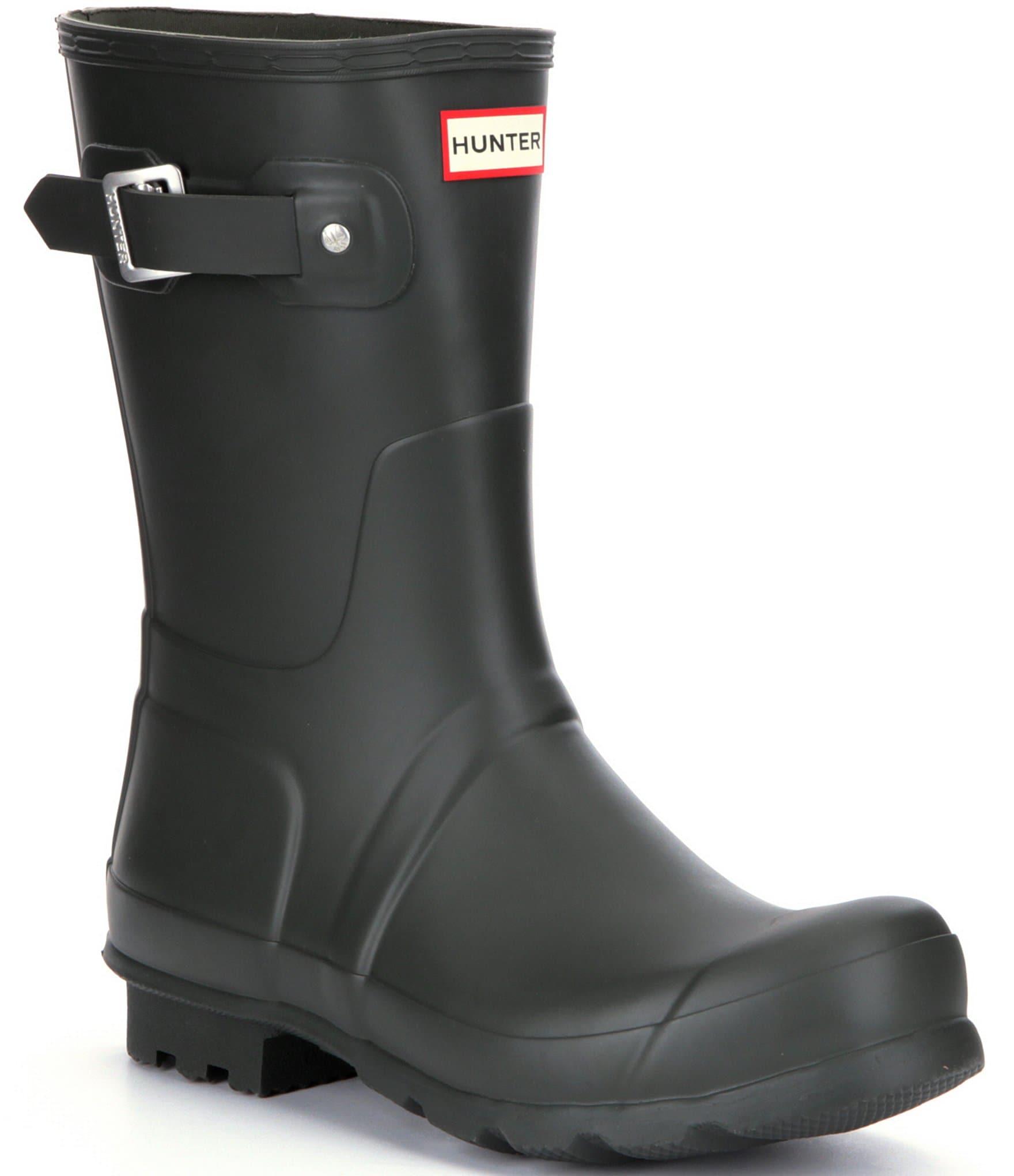 Short Men's Waterproof Rain Boots