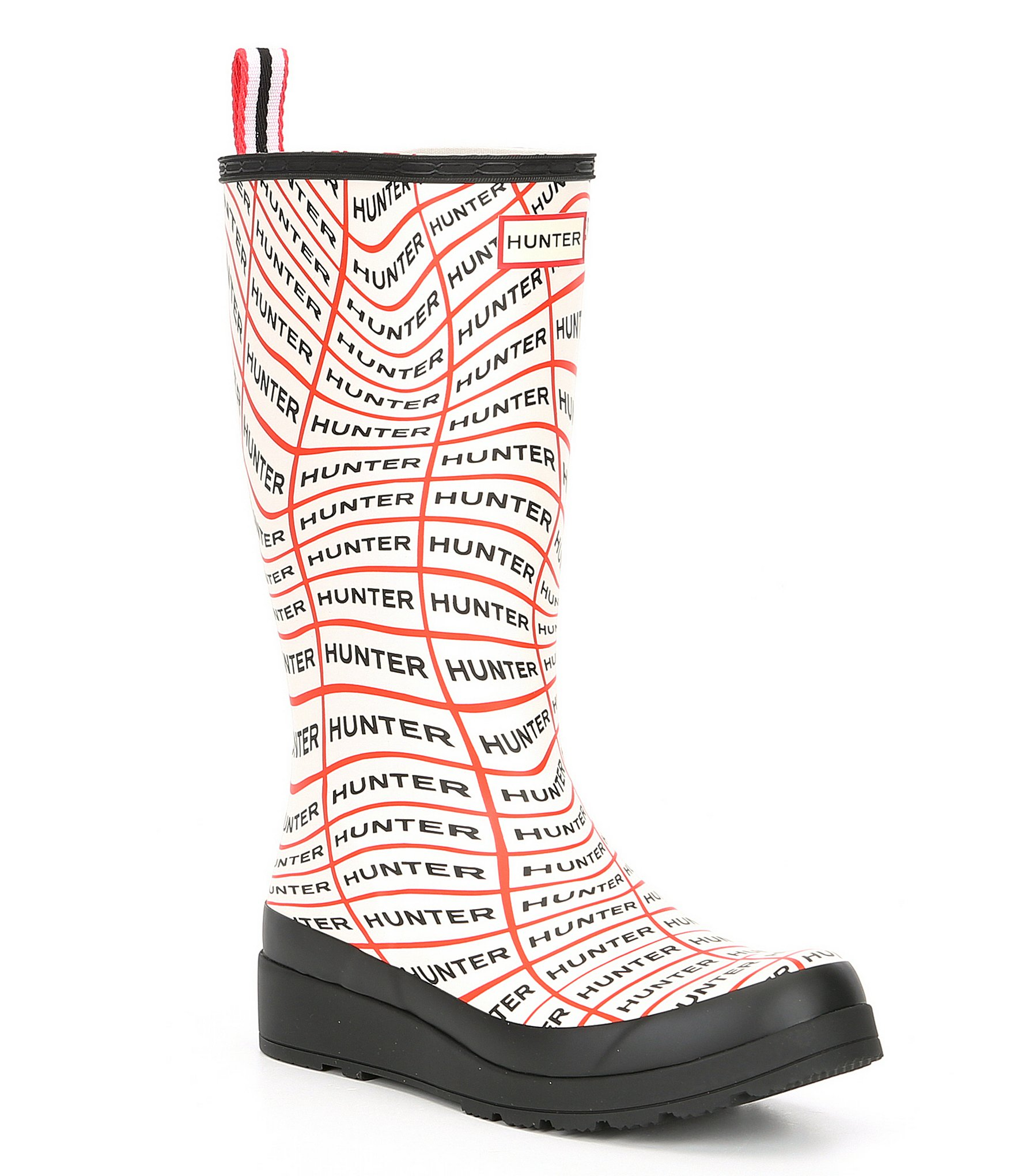 203982e163b Hunter Play Sonic Logo Tall Rain Boots