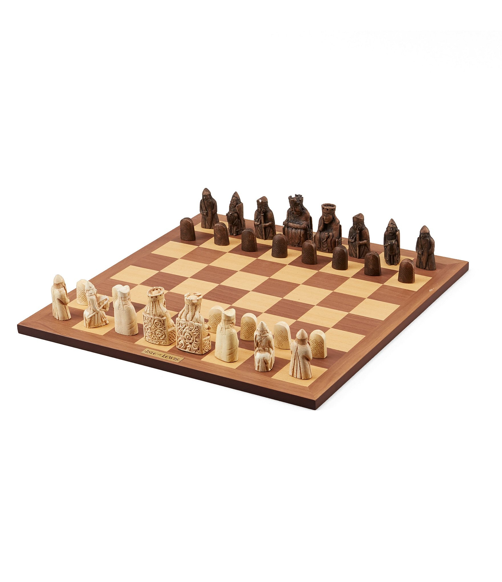 Isle of lewis deluxe chess set dillards - Deluxe chess sets ...