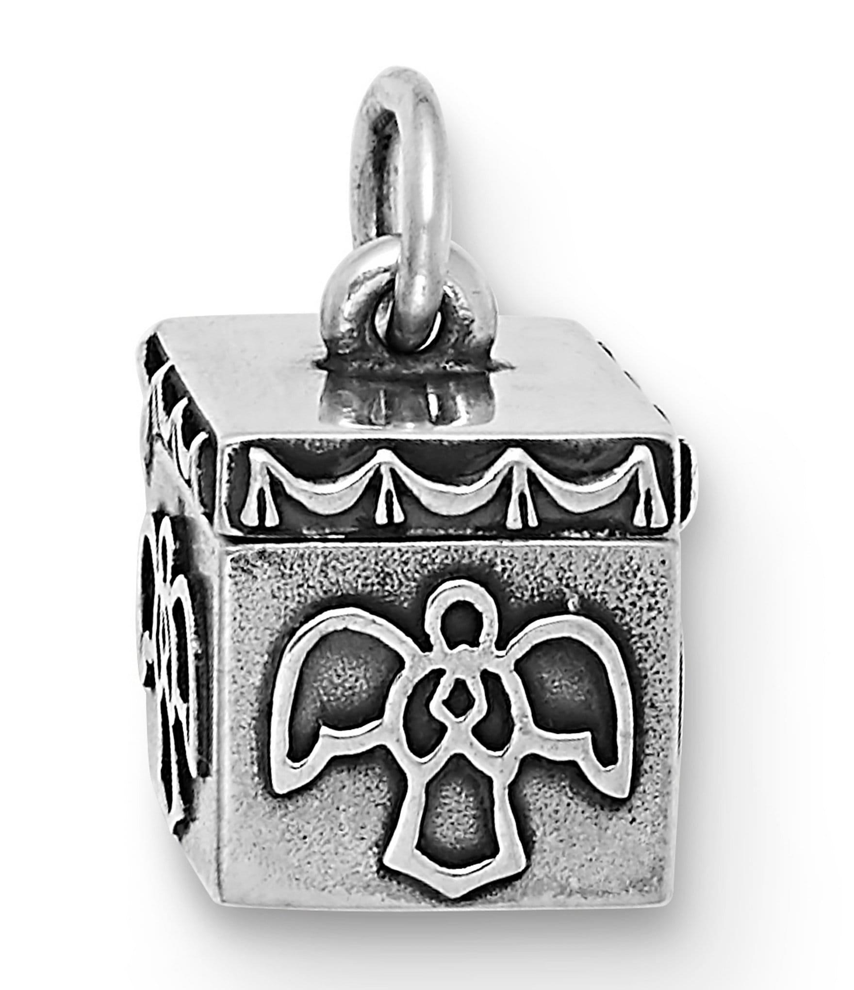 Angel of Prayer Pendant in Sterling Silver