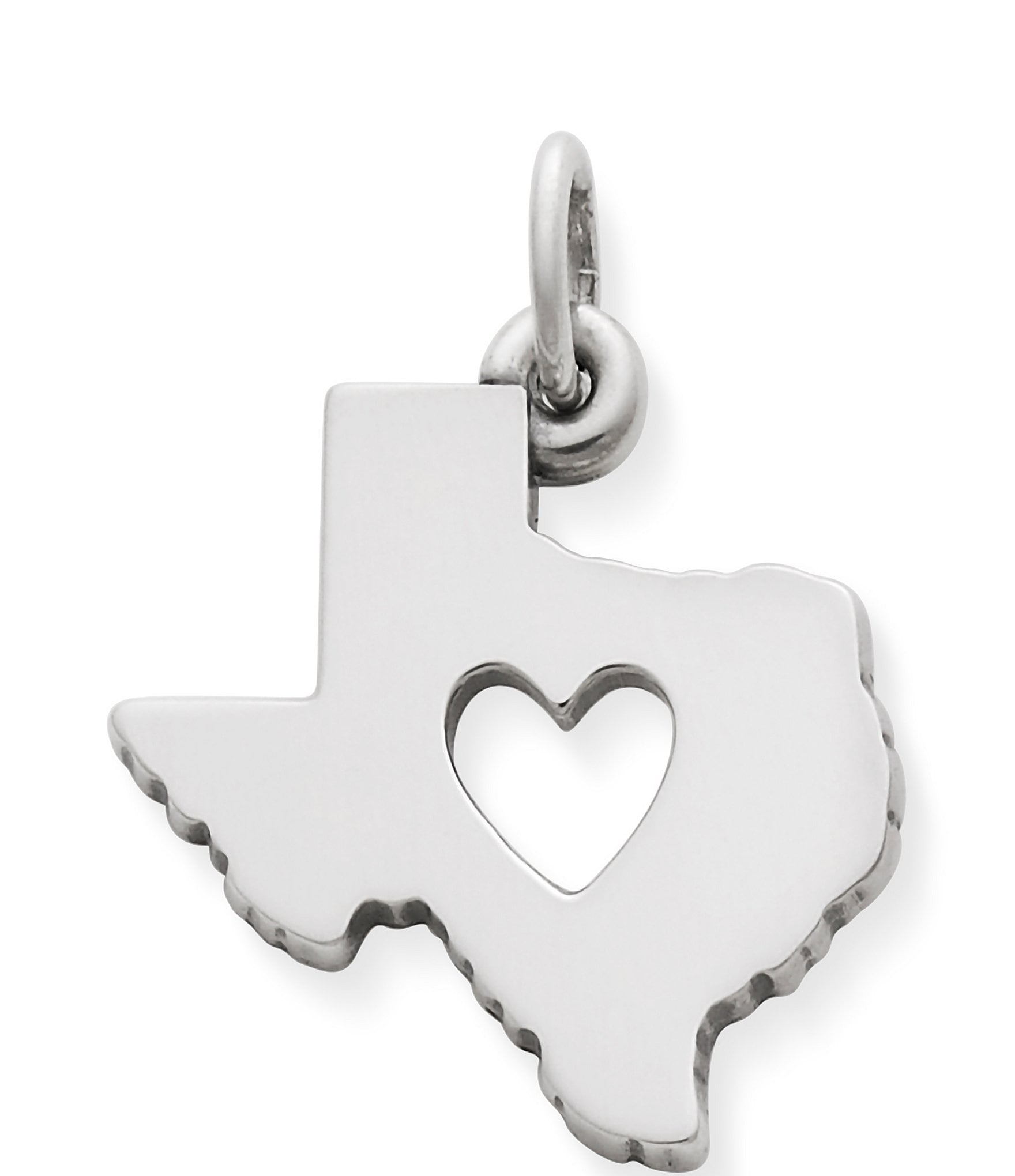 James Avery Deep In The Heart Of Texas Sterling Silver