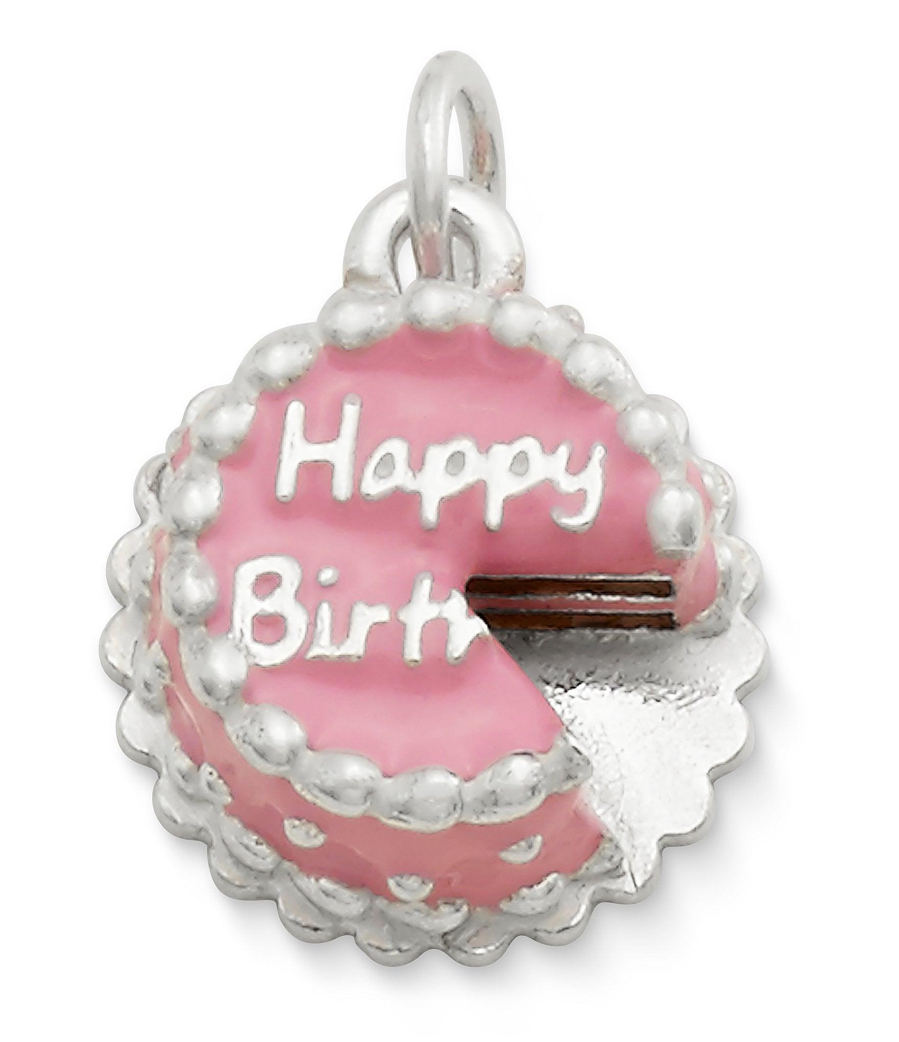 James Avery Enamel Birthday Cake Charm Dillard S
