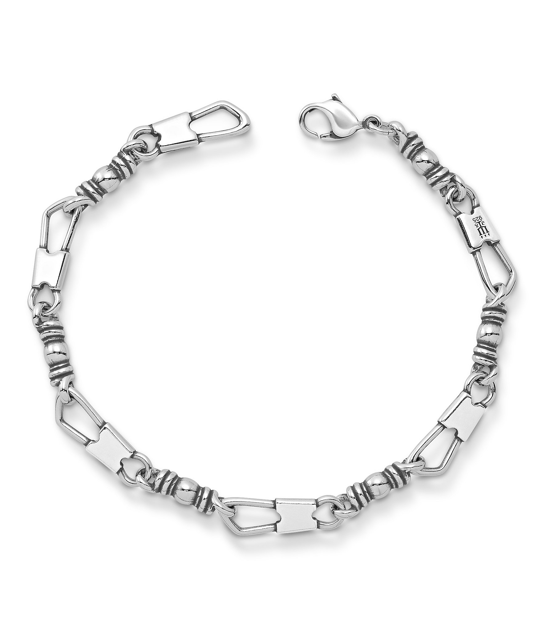 ACTS Sterling Silver Fisher of Men Petite Bracelet