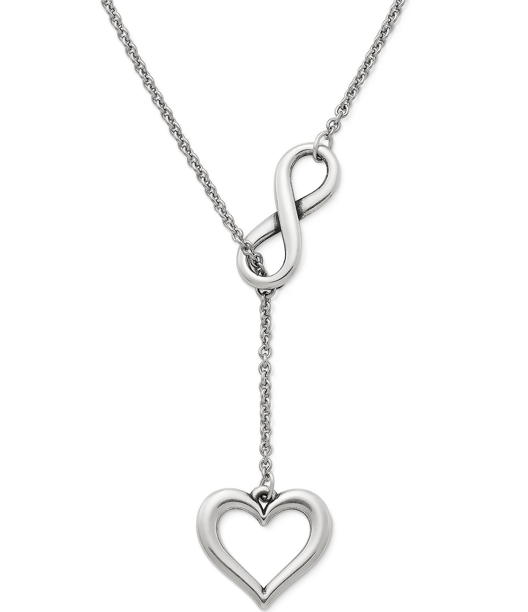 James Avery Mens Cross Necklace: James Avery Infinite Love Sterling Silver Necklace