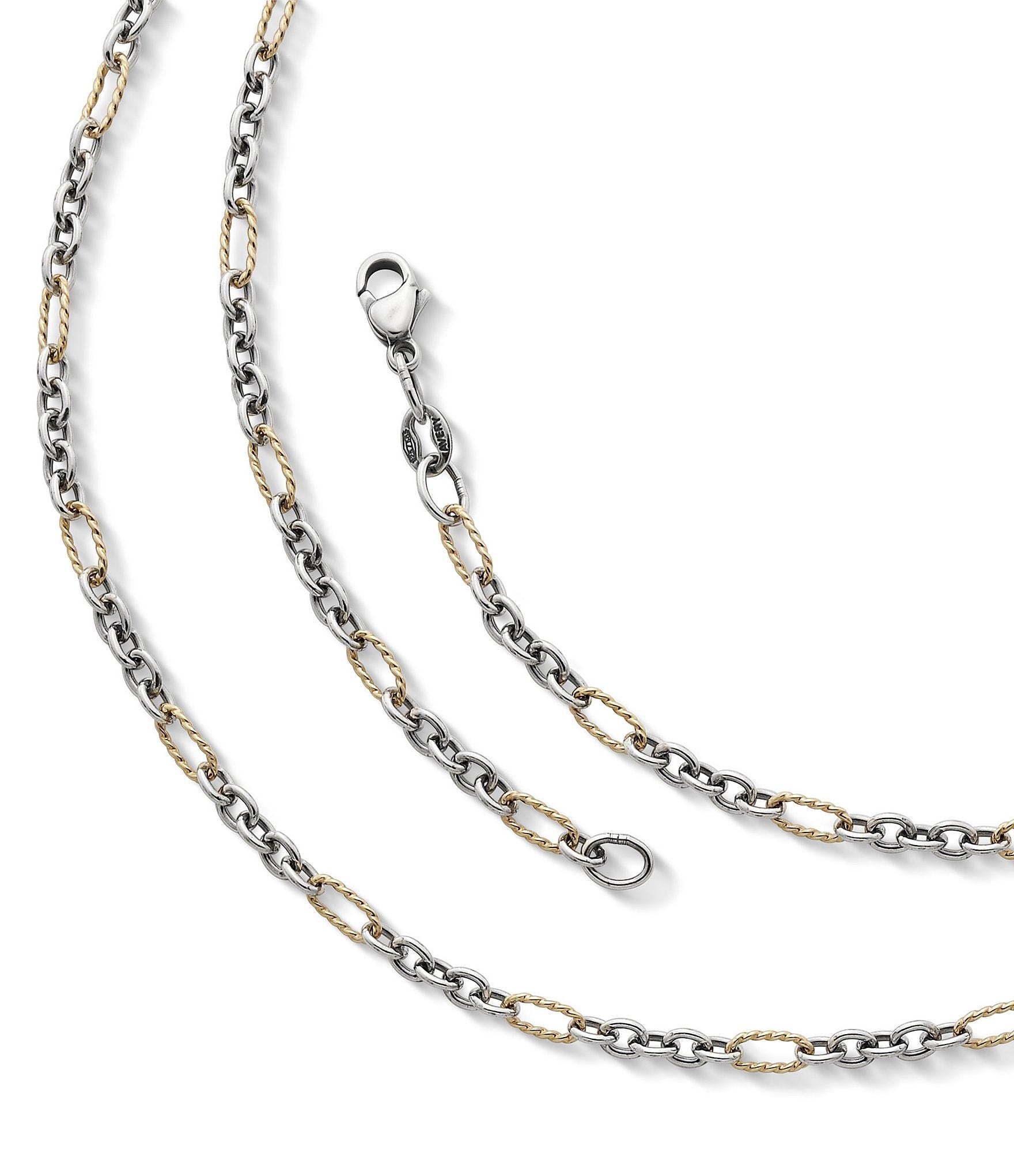 James Avery Jewelry Medium Cable Figaro Chain Dillard S