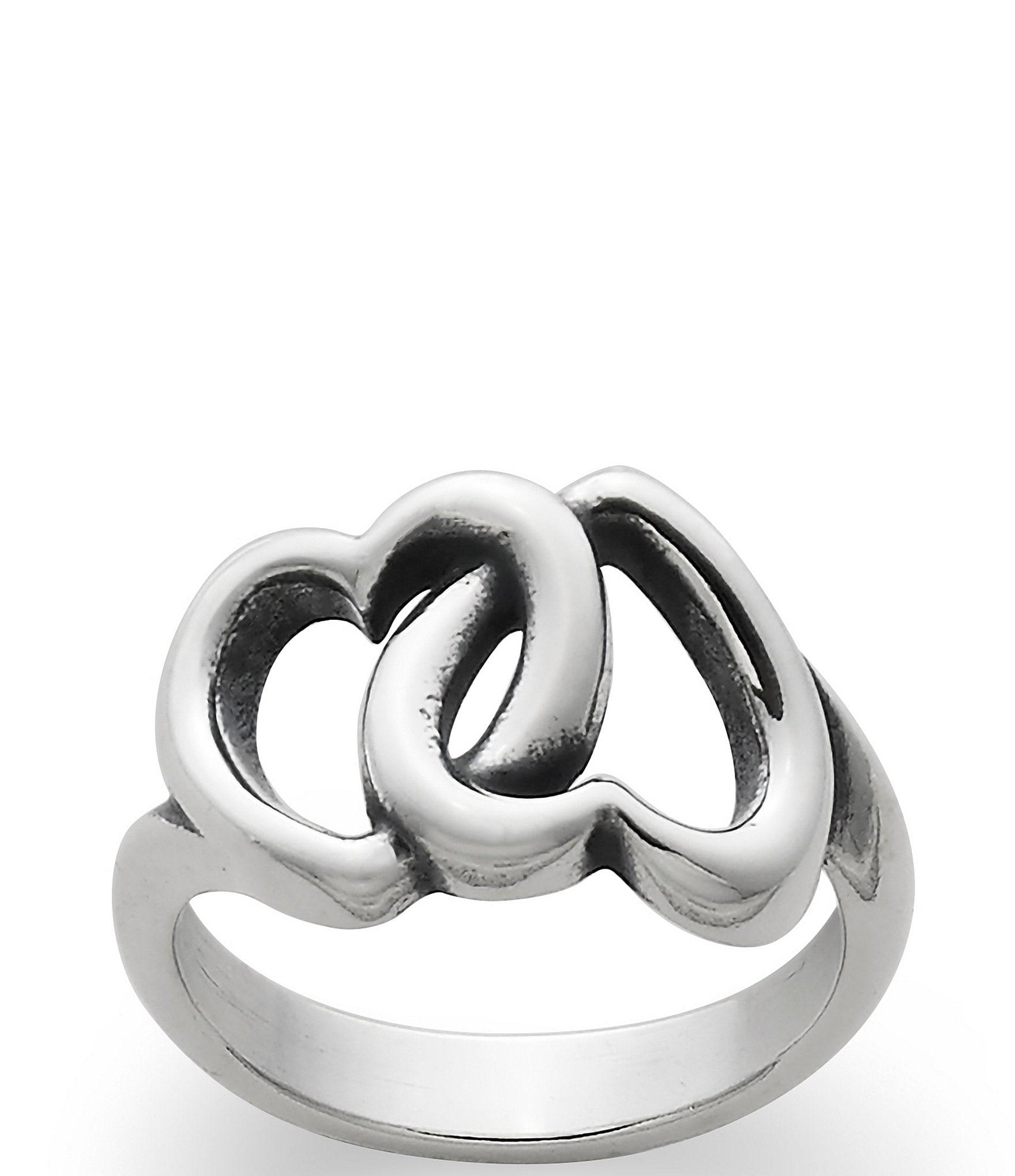 James Avery Linked Hearts Ring Dillard S