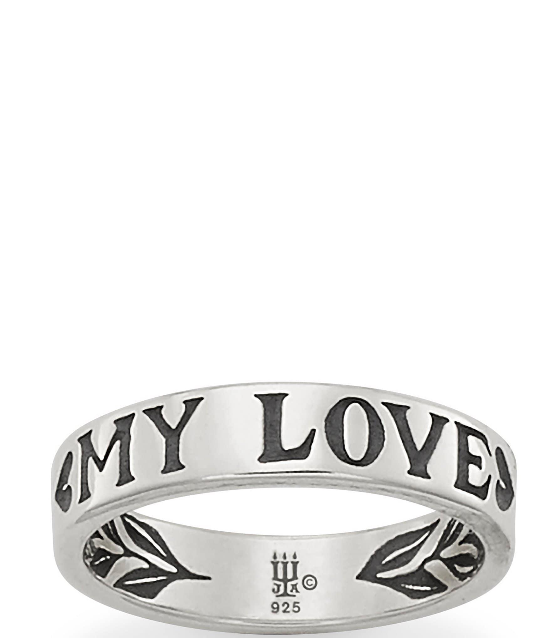 James Avery My Love Ring Dillard S