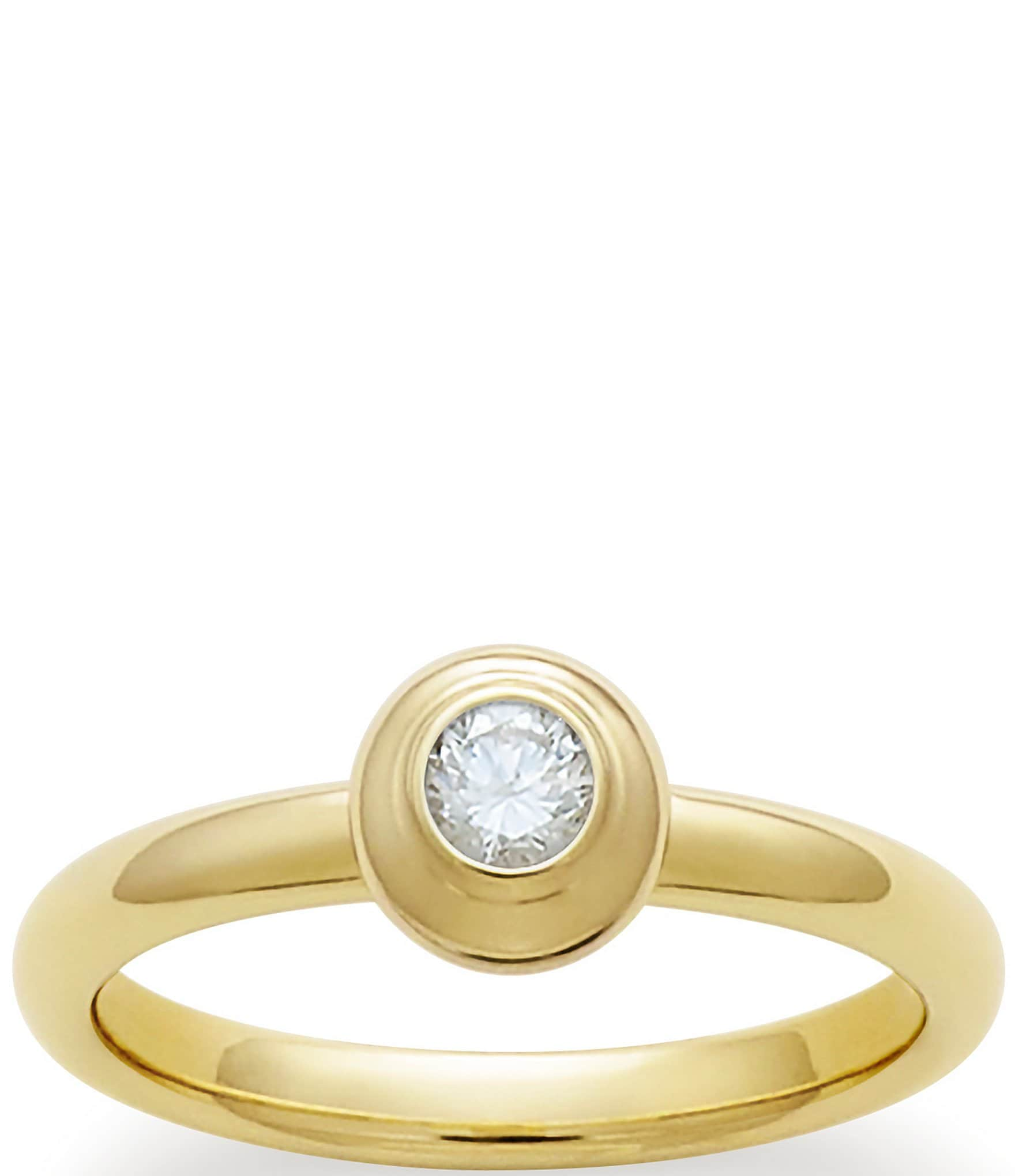 James Avery Remembrance Ring April Birthstone With White Diamond