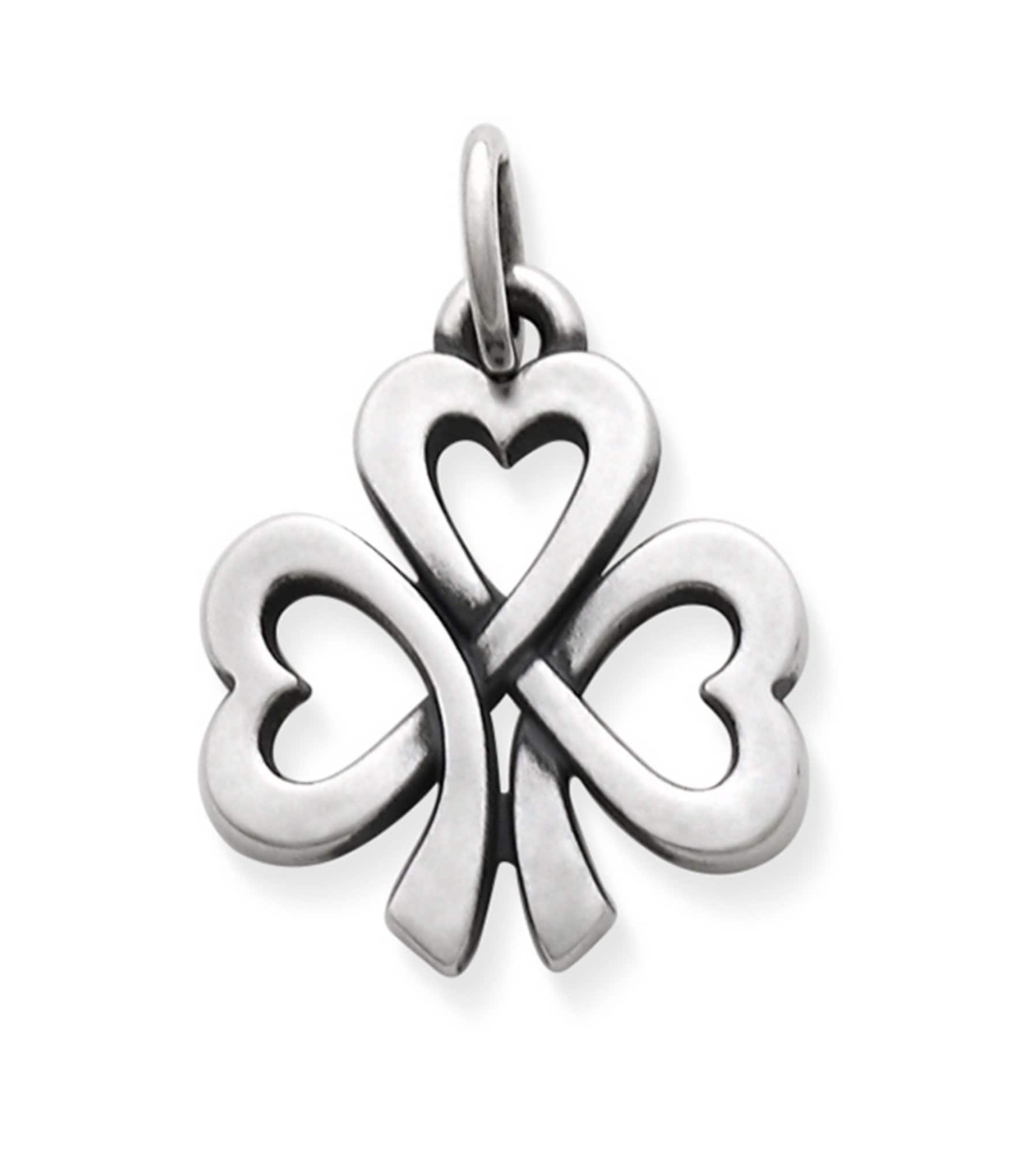 James Avery Shamrock Of Hearts Charm Dillards