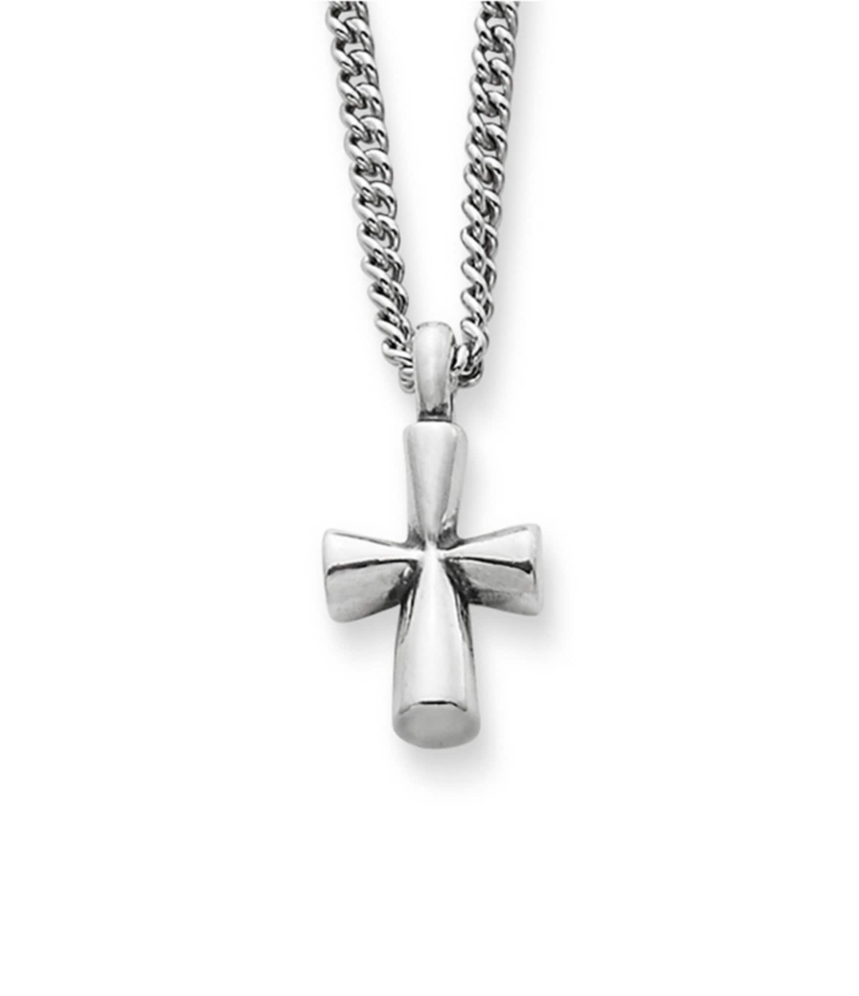James Avery Mens Cross Necklace: James Avery St Teresa Cross Sterling Silver Pendant