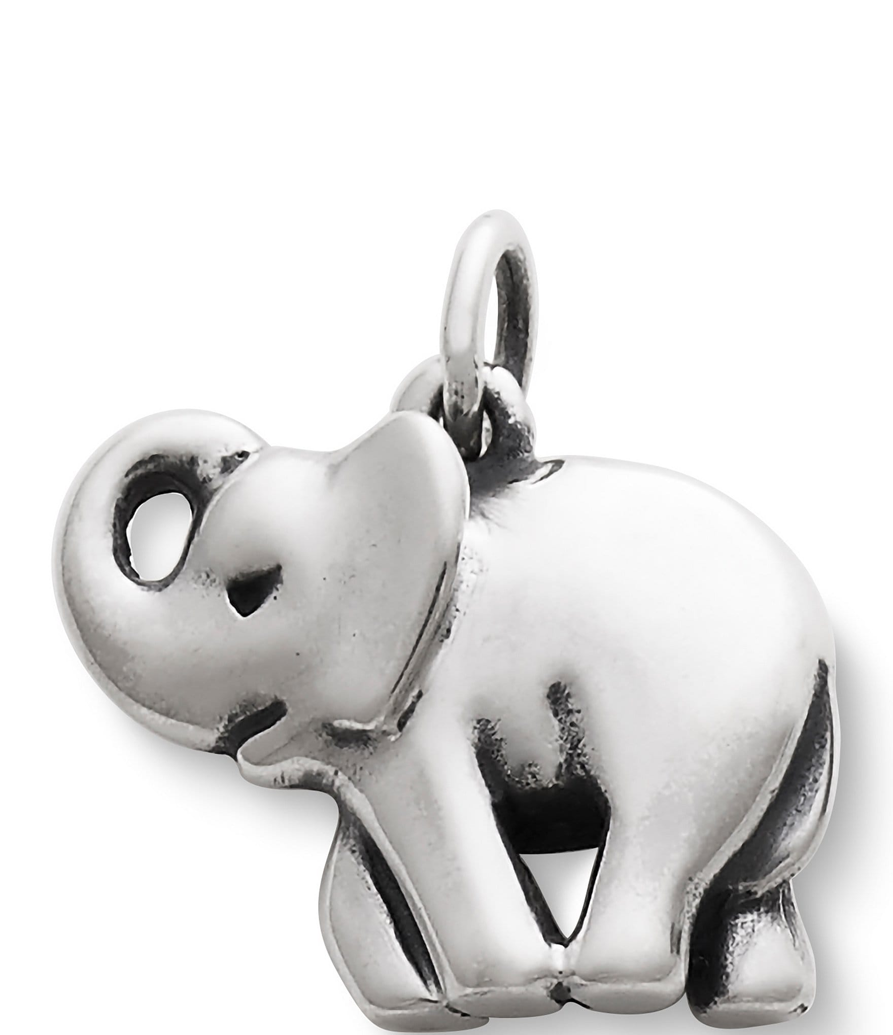 VERY NICE MODERN STERLING SILVER ELEPHANT BABY RATTLE