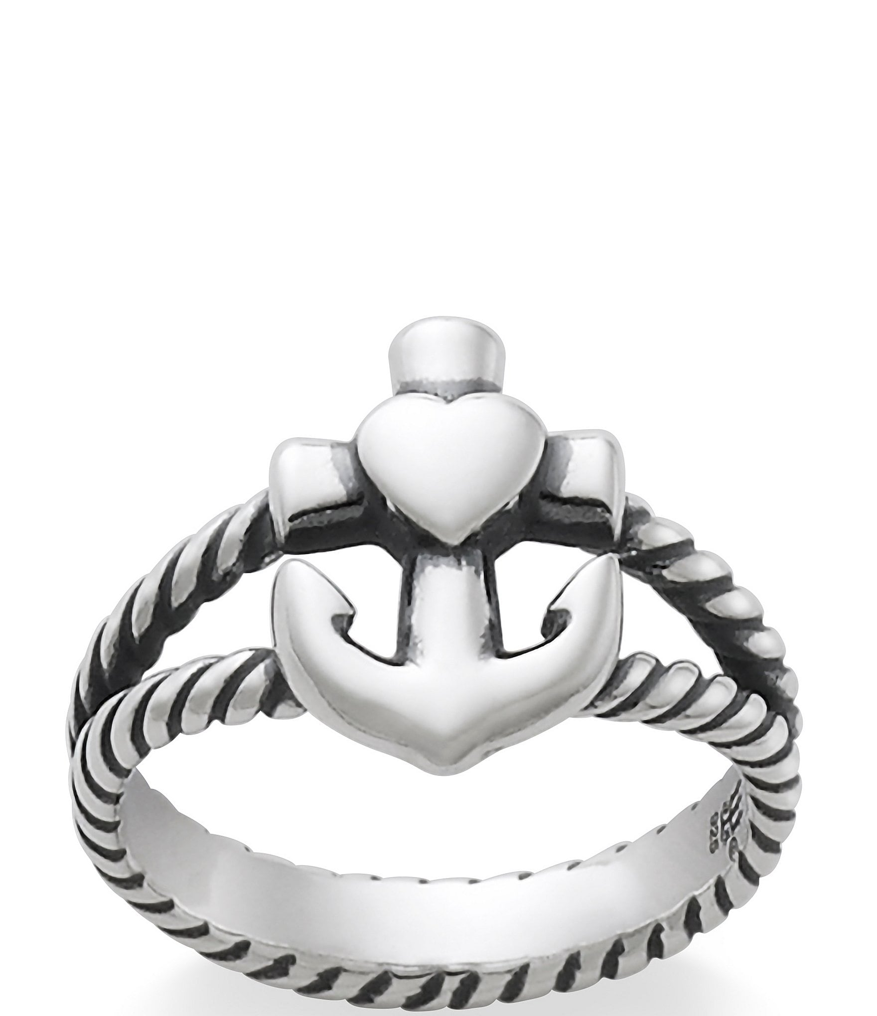 James Avery Faith Hope Amp Love Twisted Rope Ring Dillards