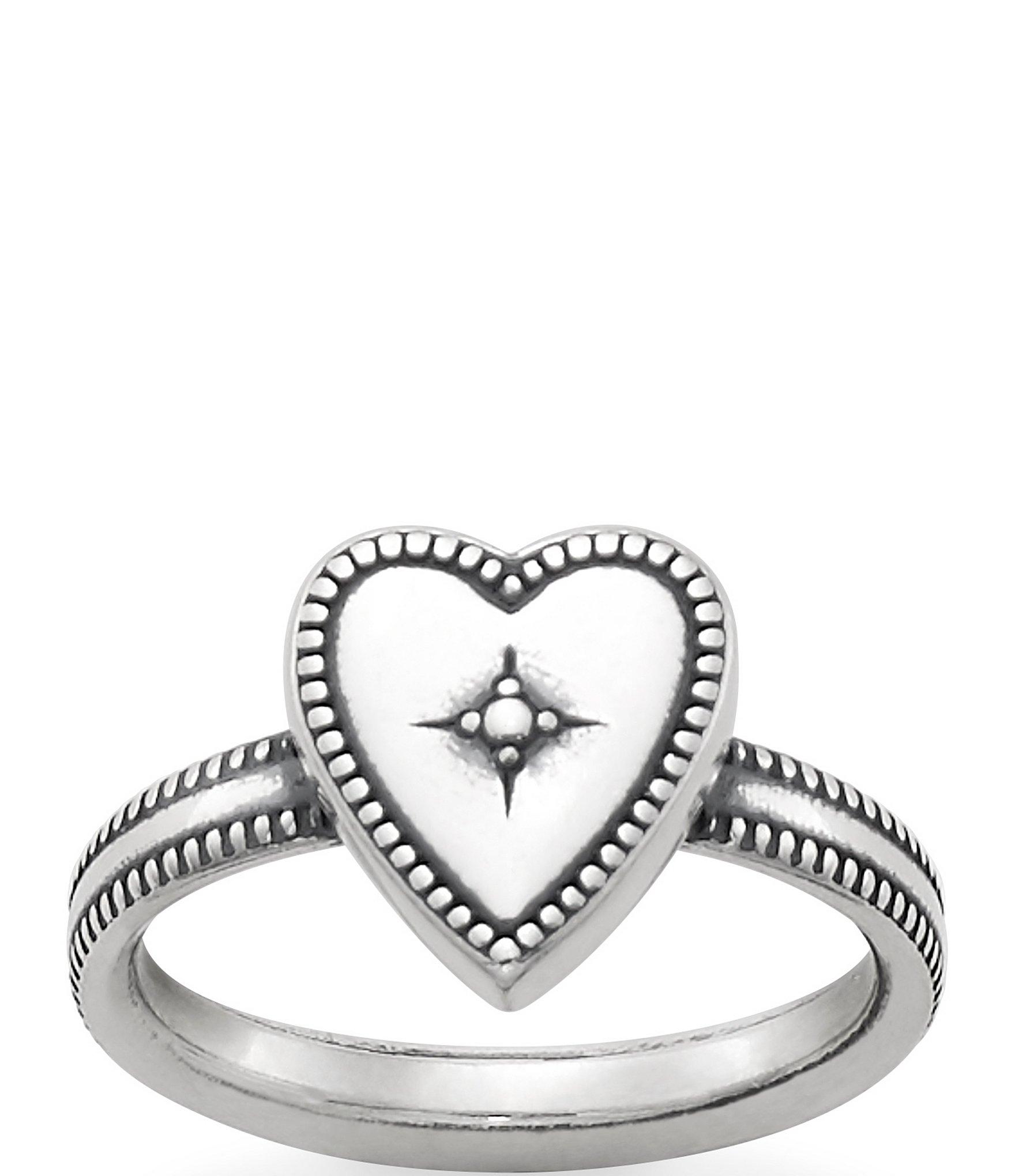 James Avery Vintage Heart Ring Dillard S