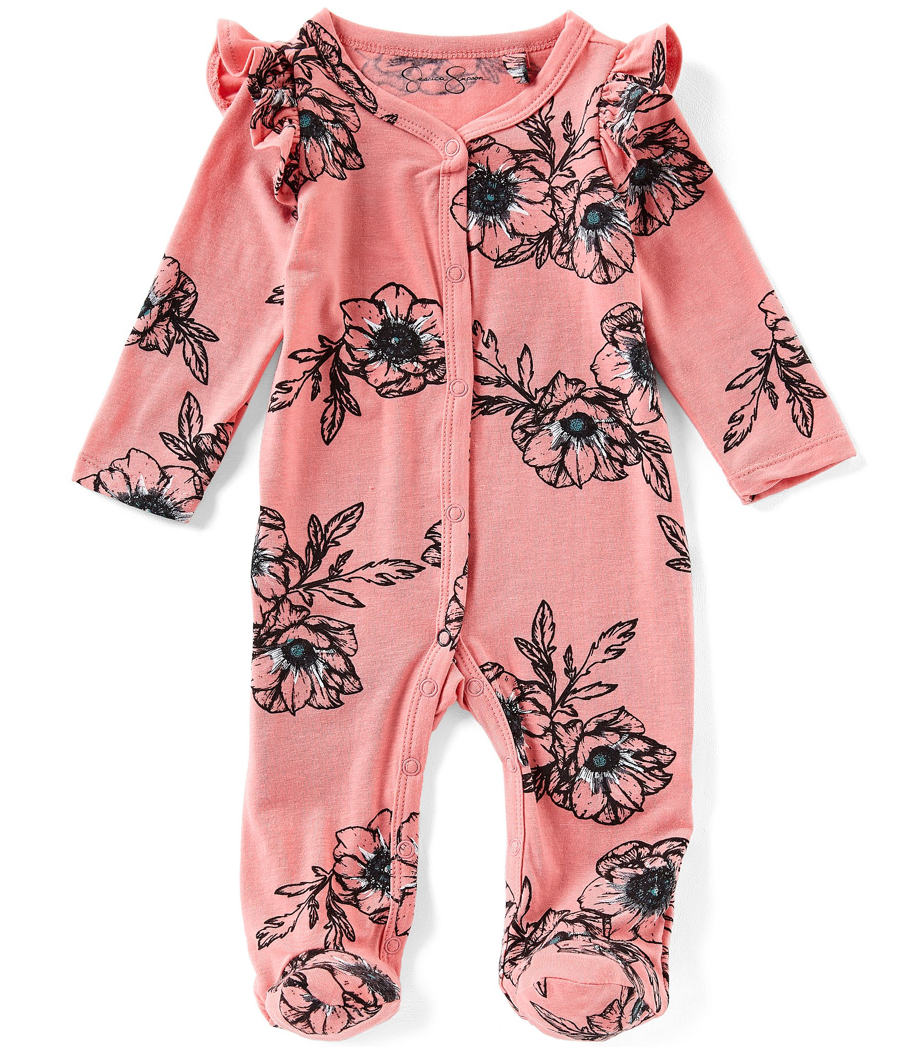 Jessica Simpson Baby-Girls Rompers Rompers