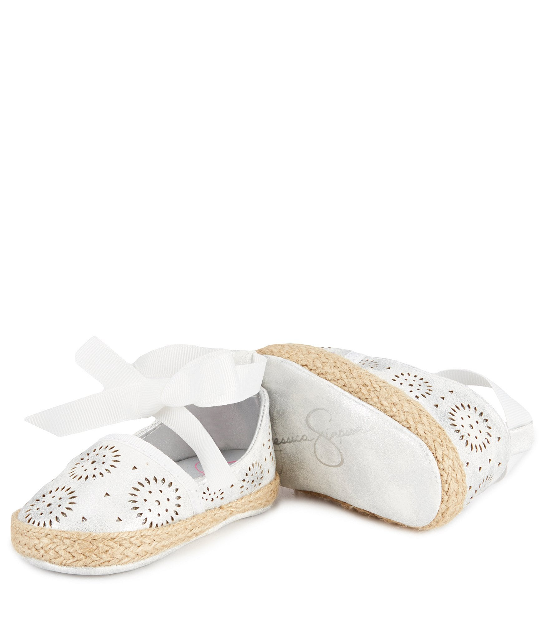 Jessica Simpson Girls´ Ella Crib Shoes
