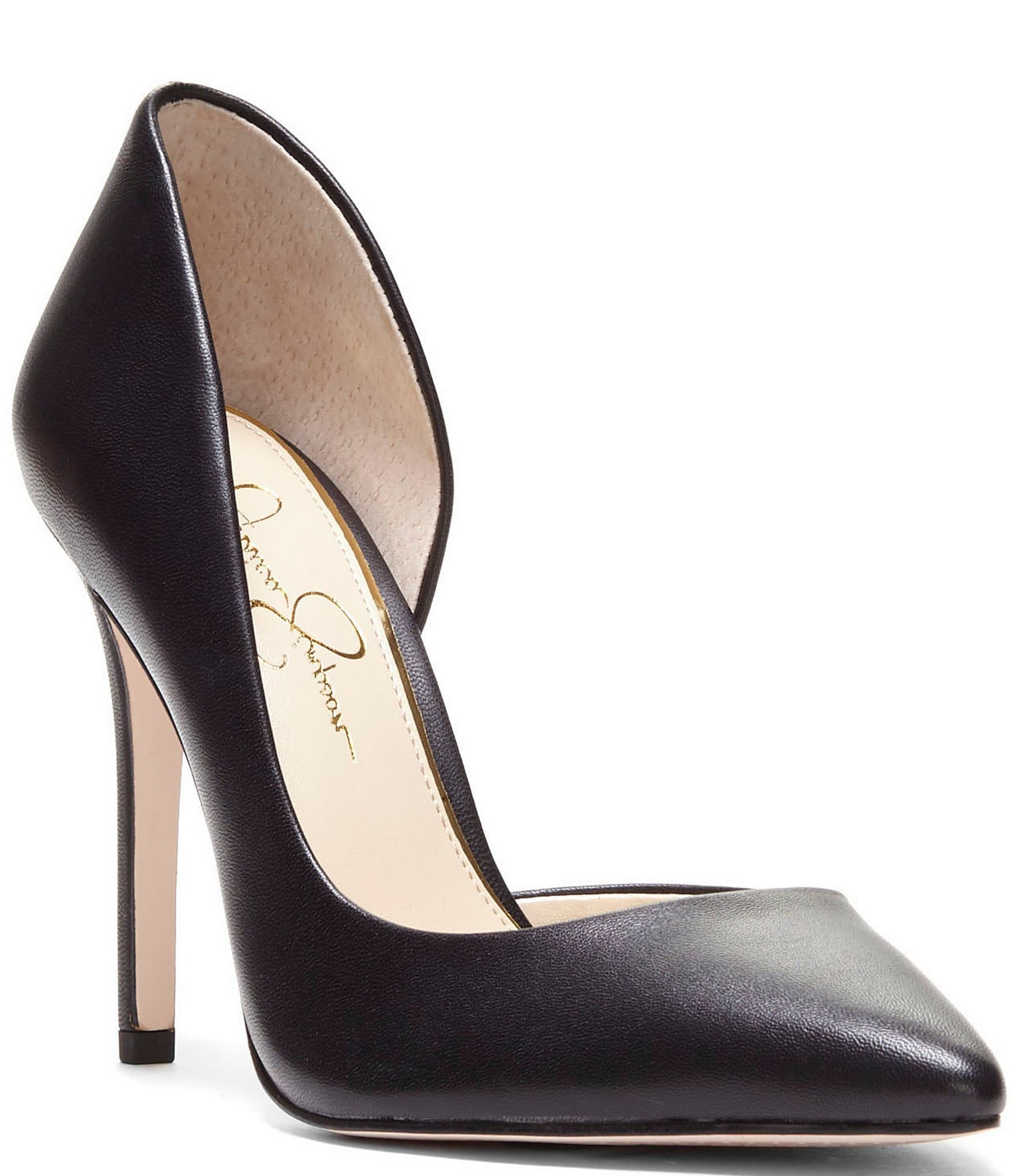f04a2256b97 Jessica Simpson Prizma Leather d'Orsay Pumps