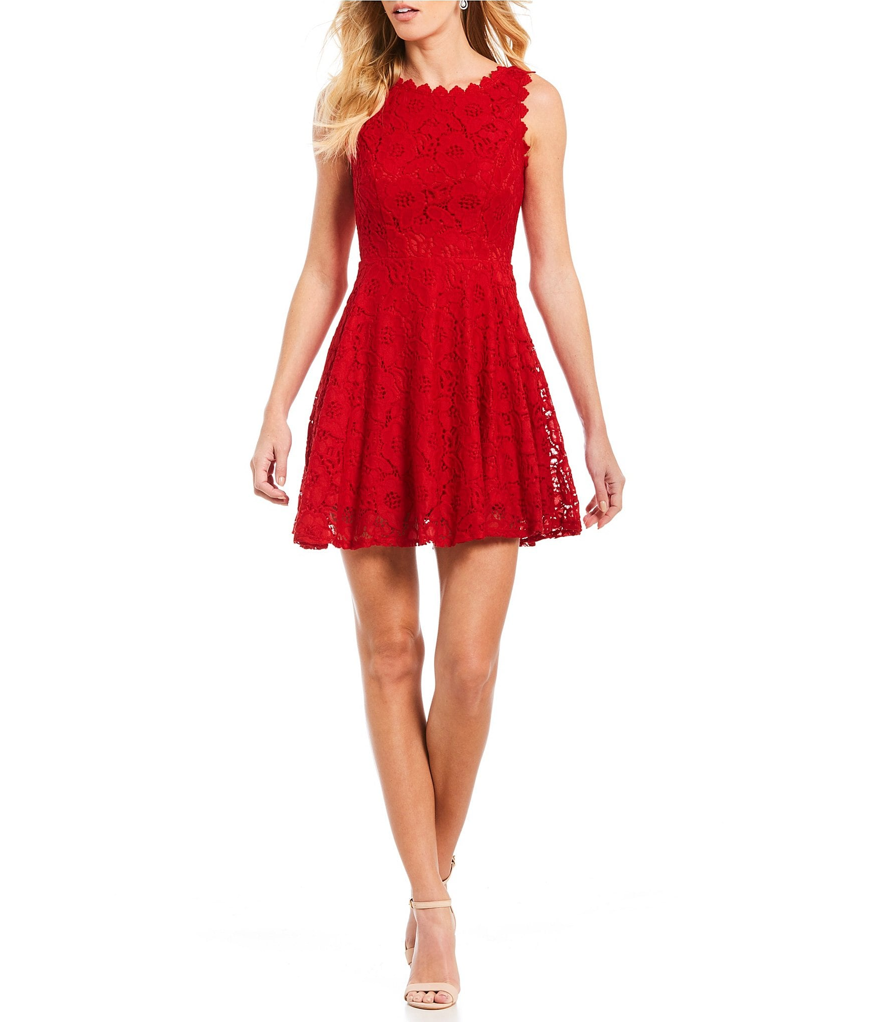 Jodi Kristopher Juniors' Lace Dresses | Dillards