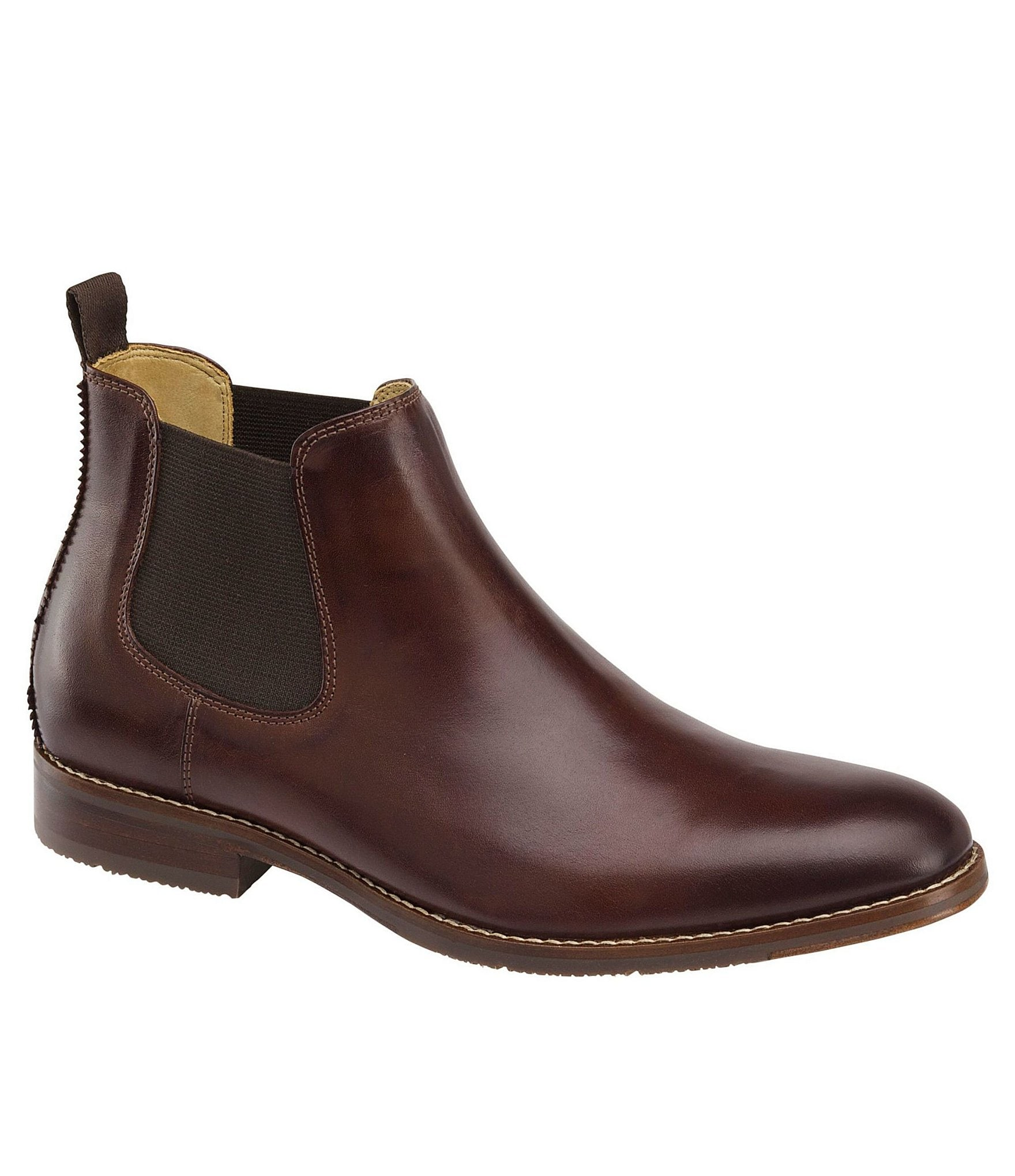 johnston murphy 180 s garner chelsea boots dillards