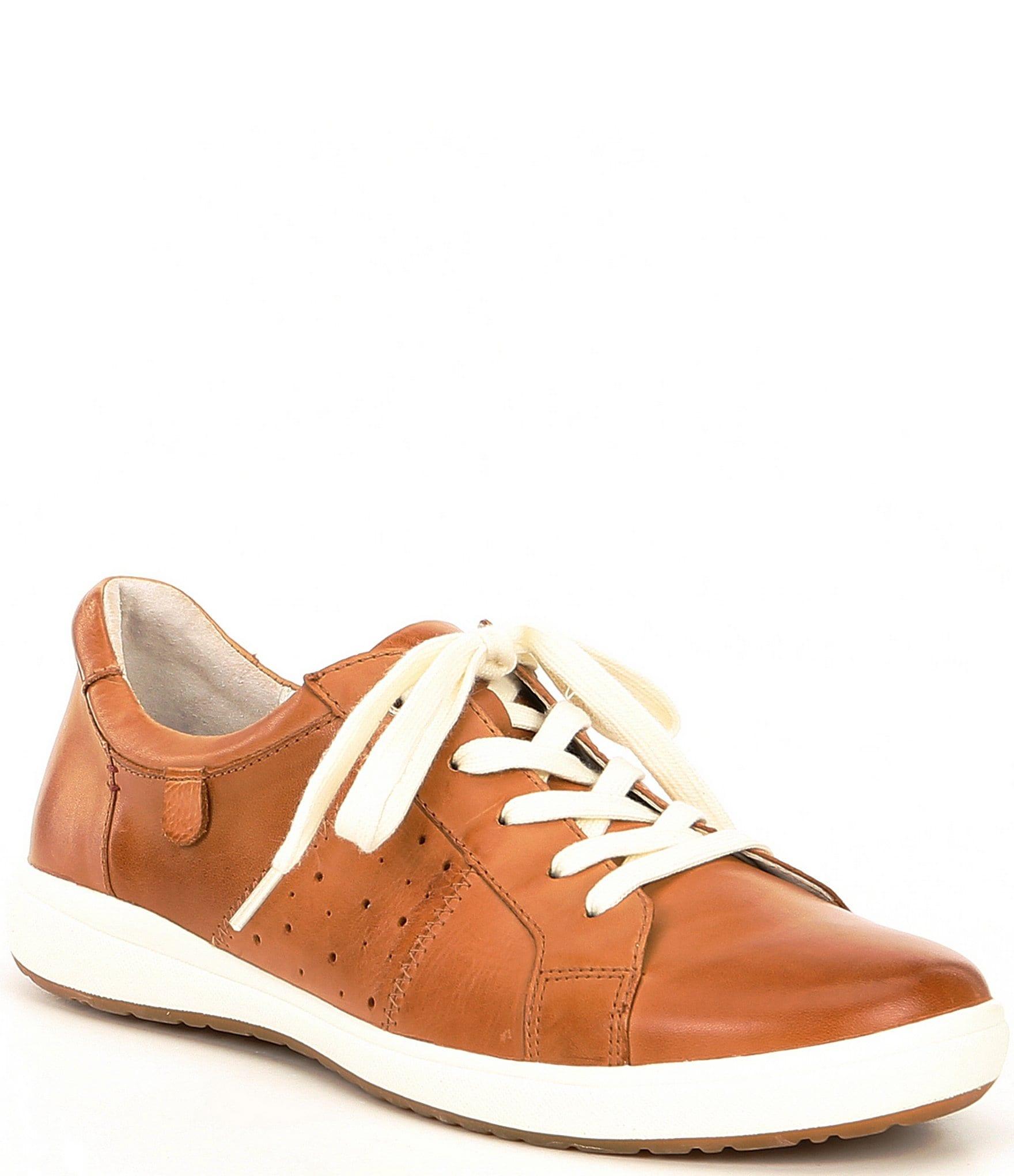 Josef Seibel Caren 01 Leather Sneakers
