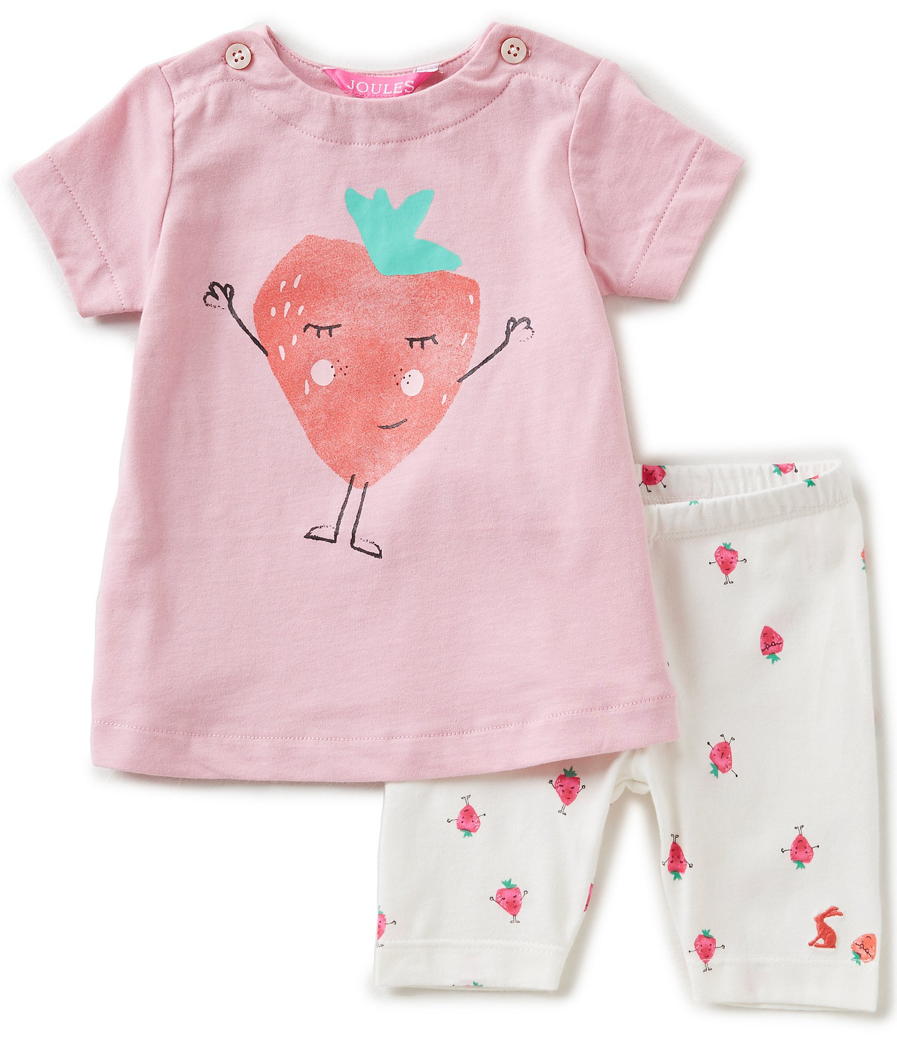 Joules Baby Girls Newborn 12 Months Paula Strawberry