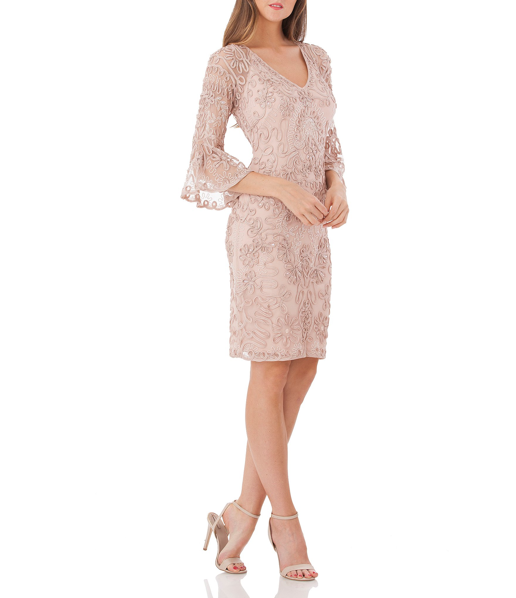 10f1162001a Knee Length Women s Cocktail   Party Dresses
