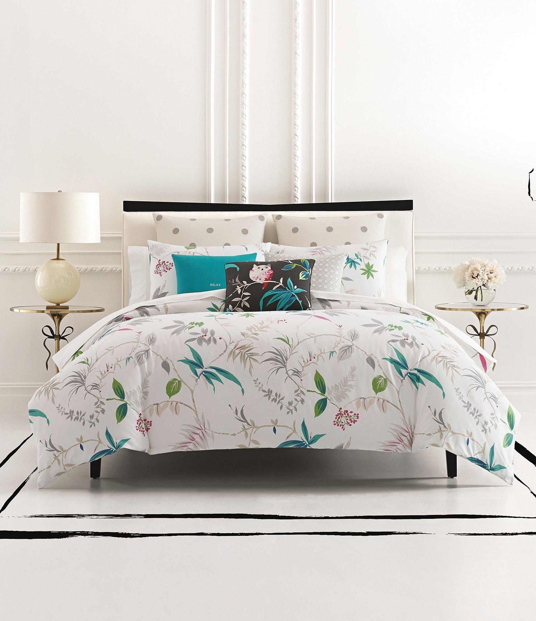 Kate Spade King Size Comforter In Bedding