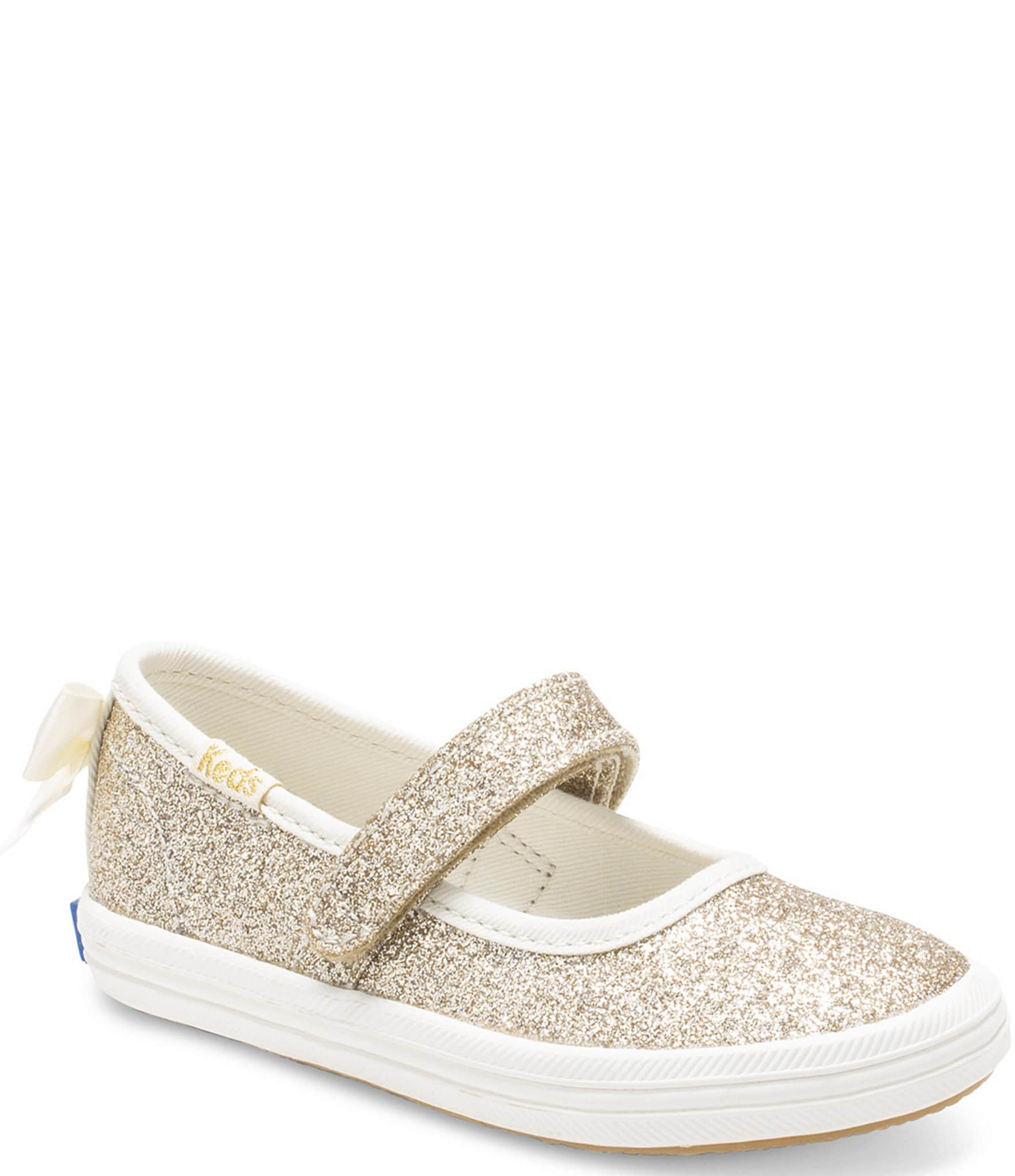 gold baby doll shoes
