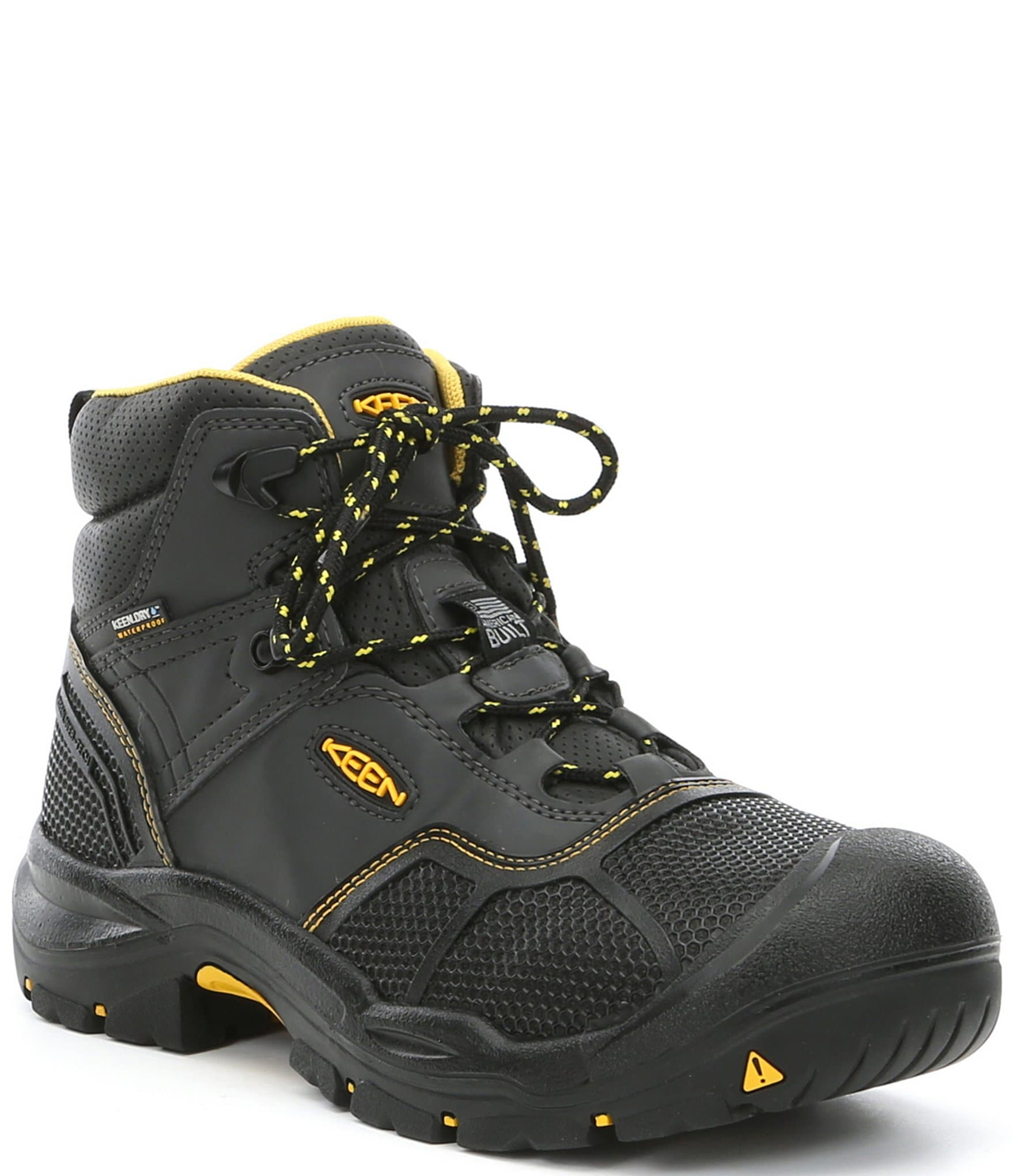 e36489c890be KEEN Men s Utility Logandale Waterproof Steel Toe Work Boots