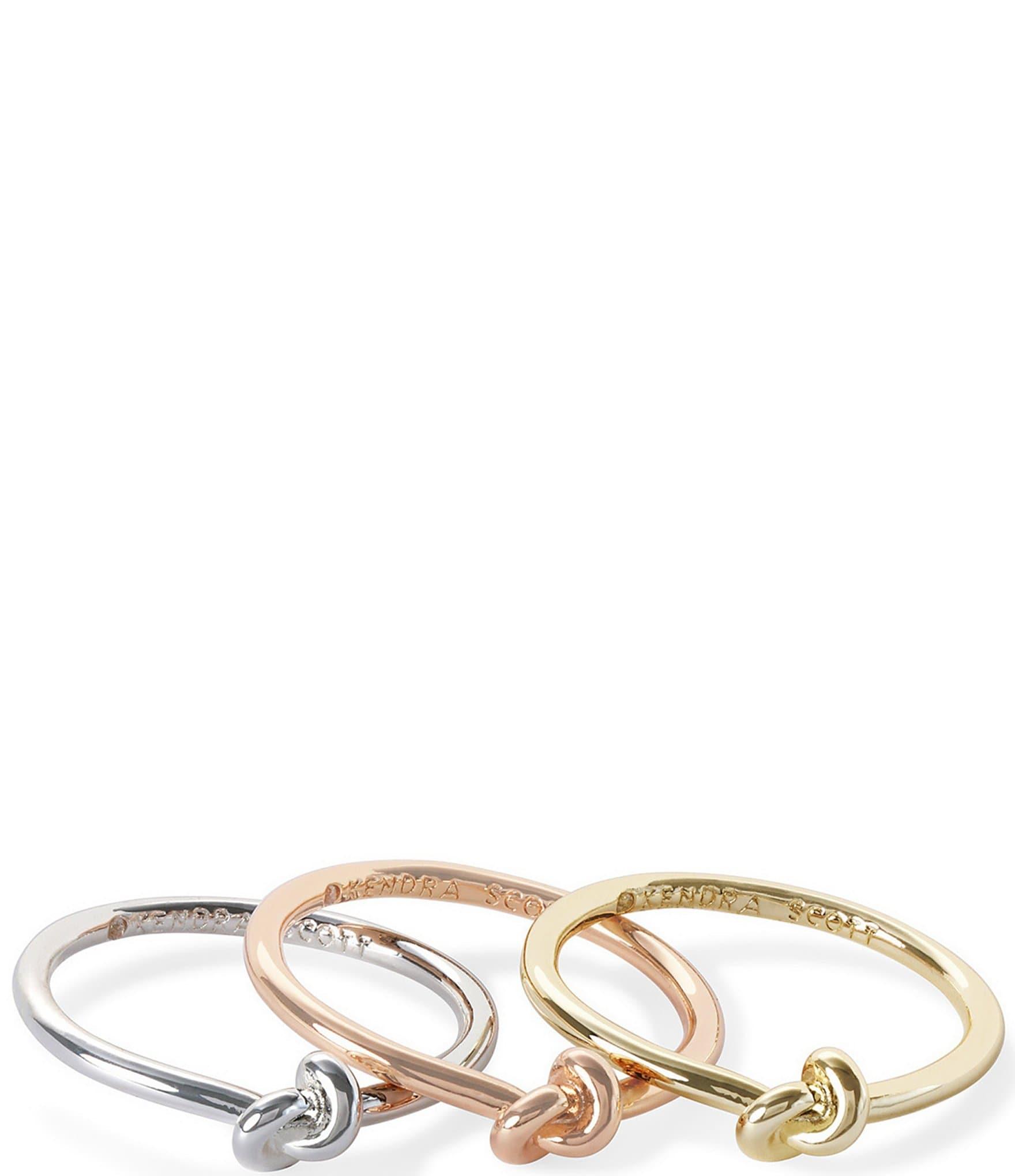 Kendra Scott Presleigh Love Knot Ring Set Dillard S
