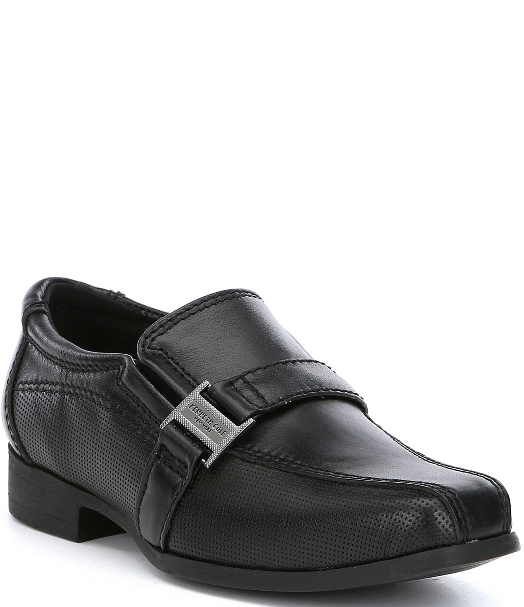 715aa36e Kenneth Cole New York Boys' Magic News Slip-Ons