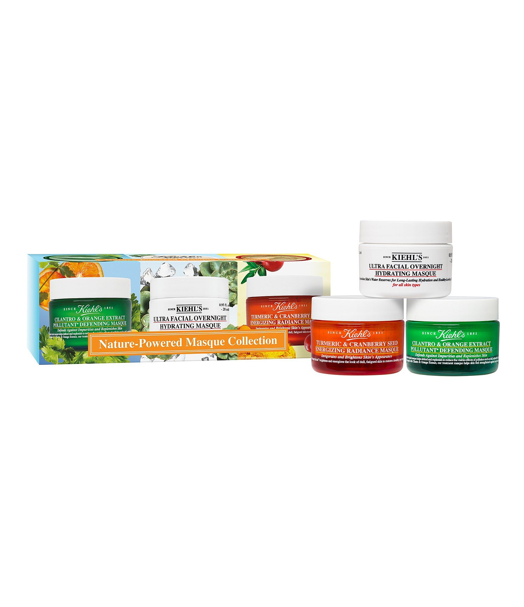 Kiehl S Nature Powered Masque Collection Review