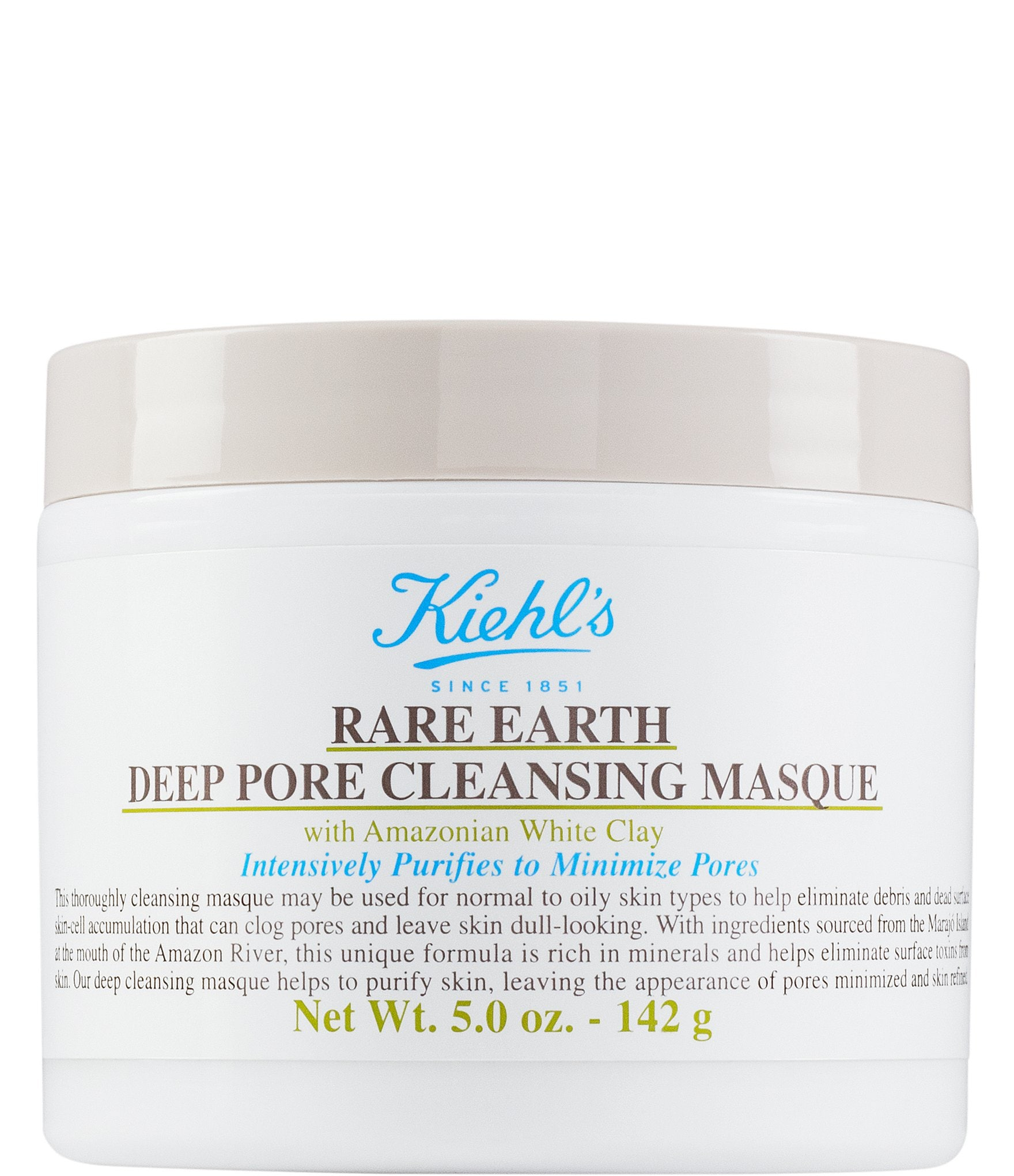 Kiehl's Since 1851 Rare Earth Pore Cleansing Treatment