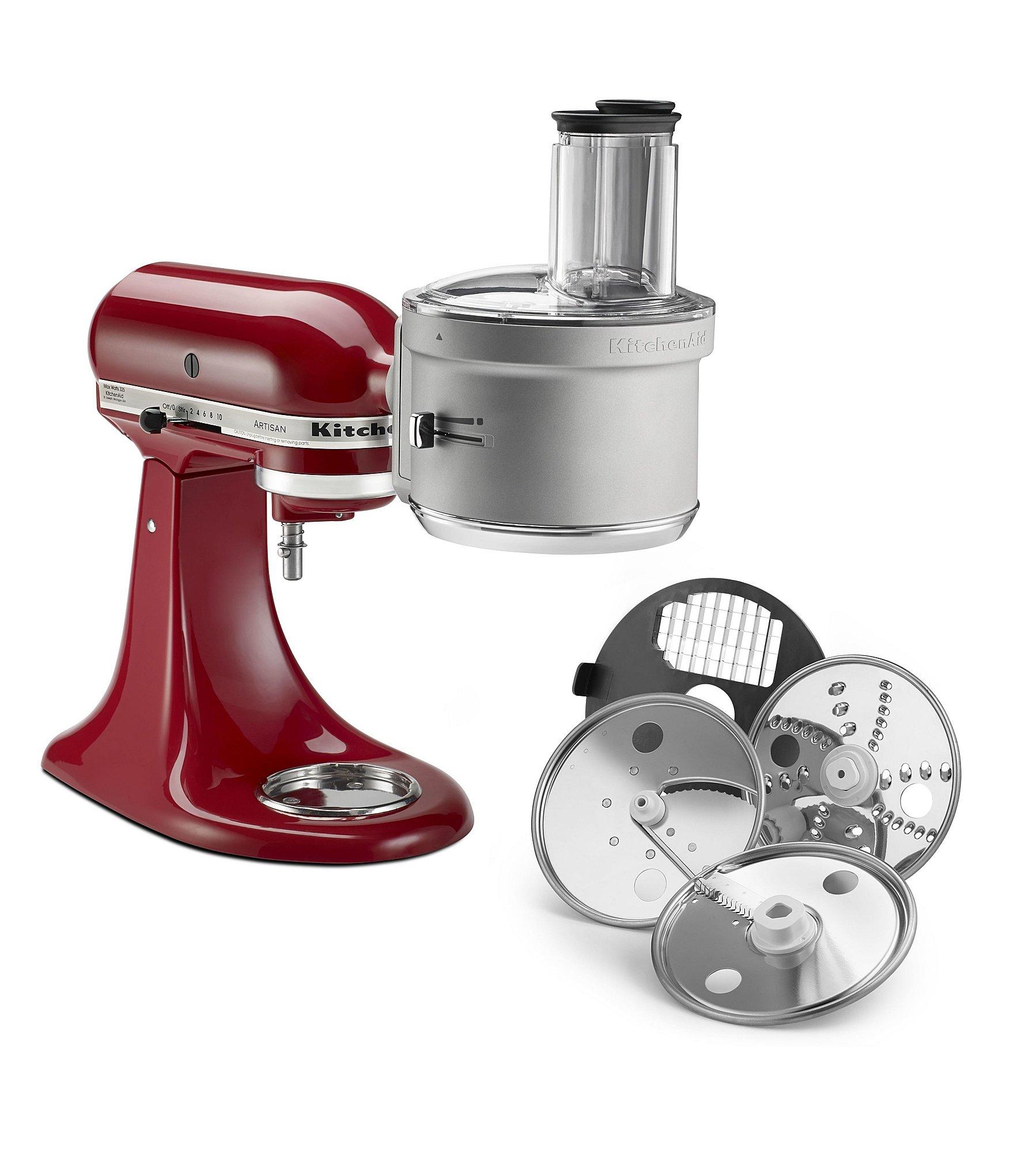 KitchenAid Dicing & Food Processor Stand Mixer Attachment Kit ...