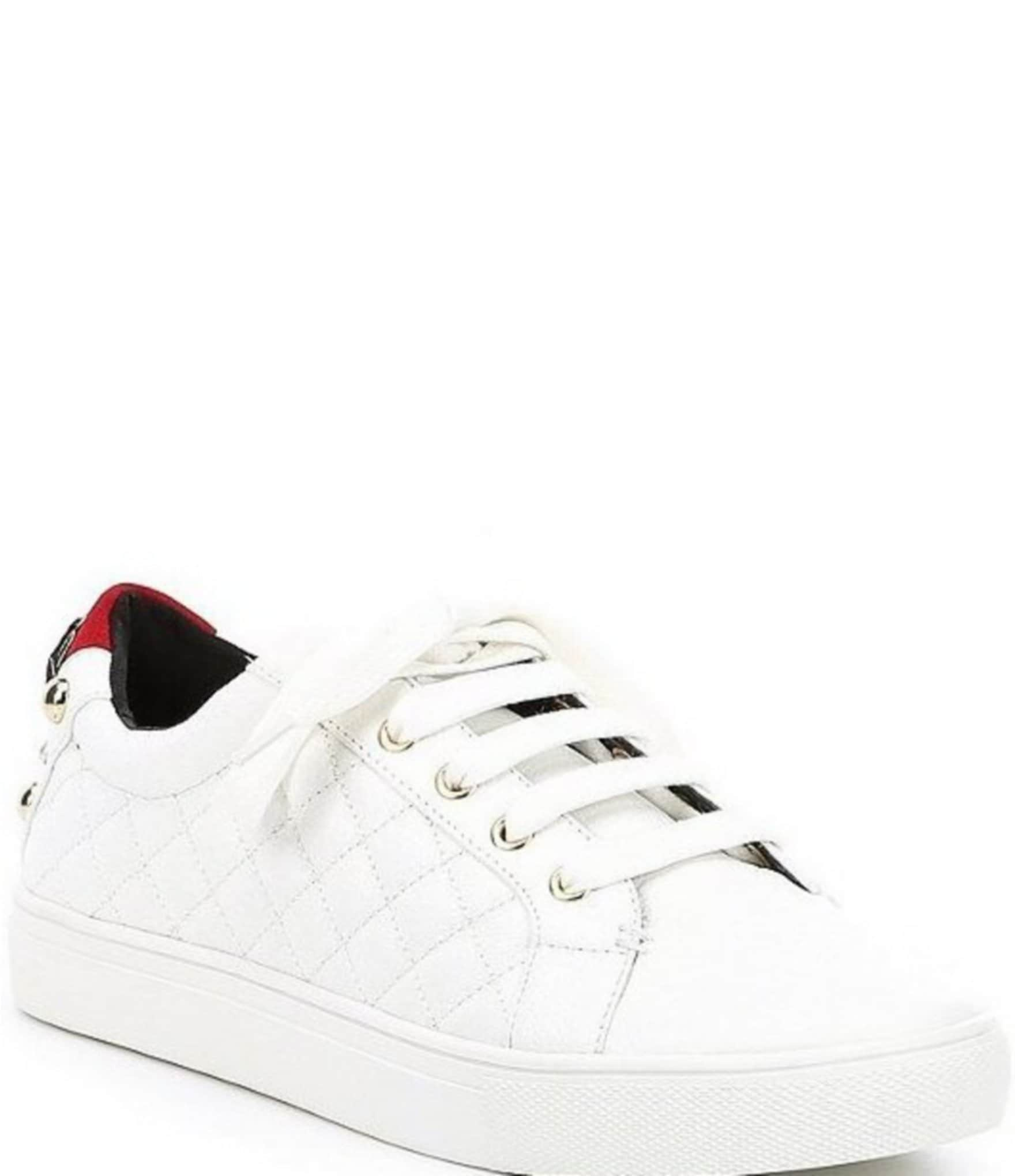 kurt geiger ludo leather lace up sneakers