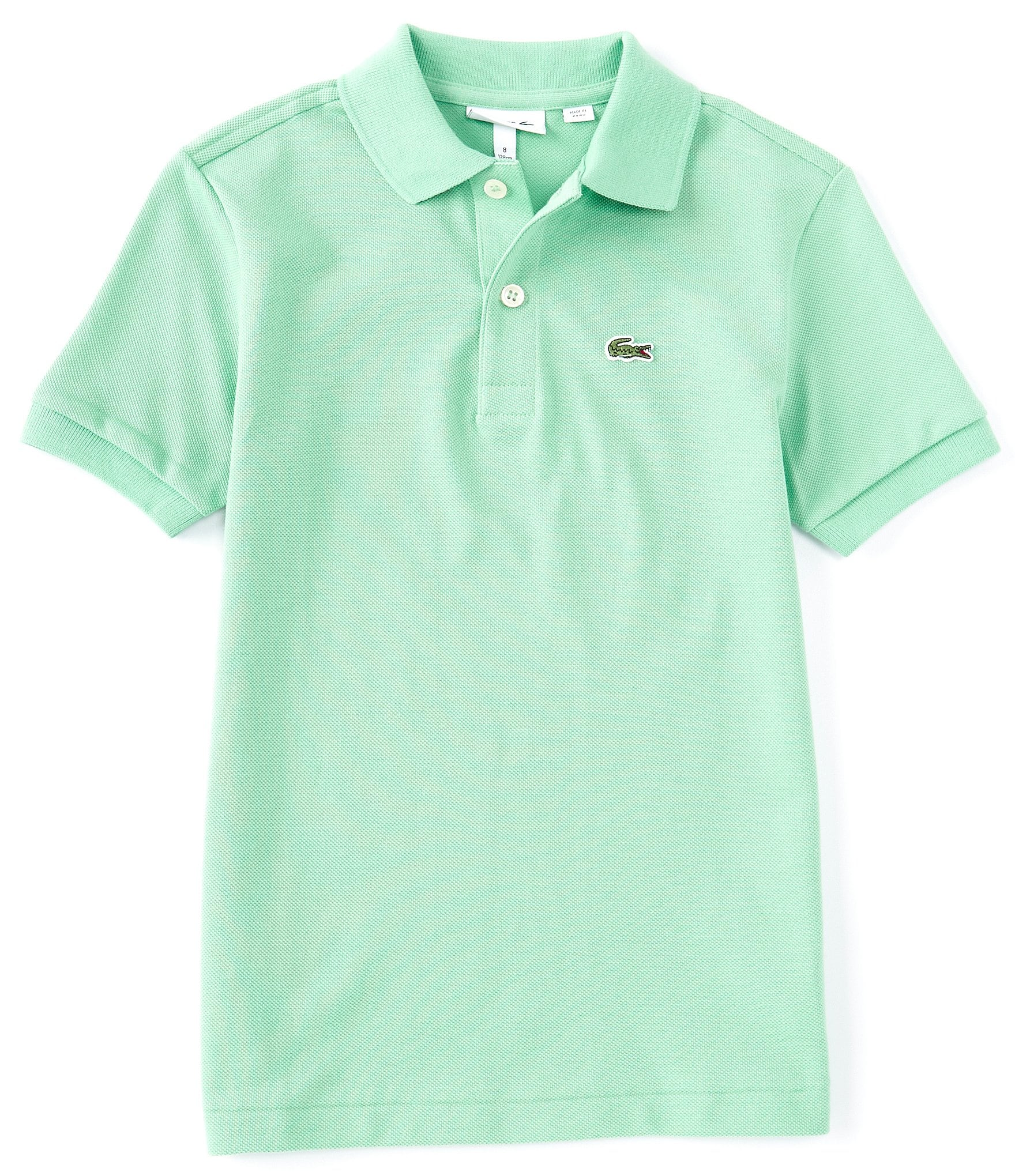 3150 Mayoral Boys Short Sleeved Polo in Hibiscus Red Aged 2-8 Yrs