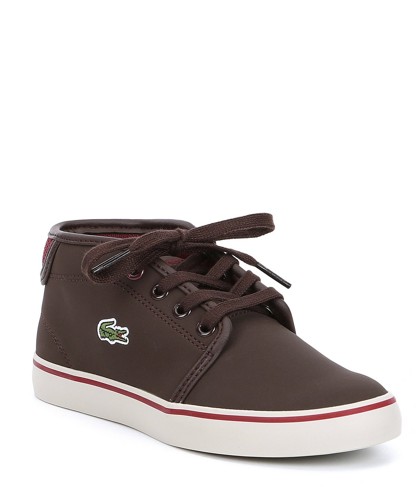 Lacoste Boys' Ampthill Mid Top Sneakers
