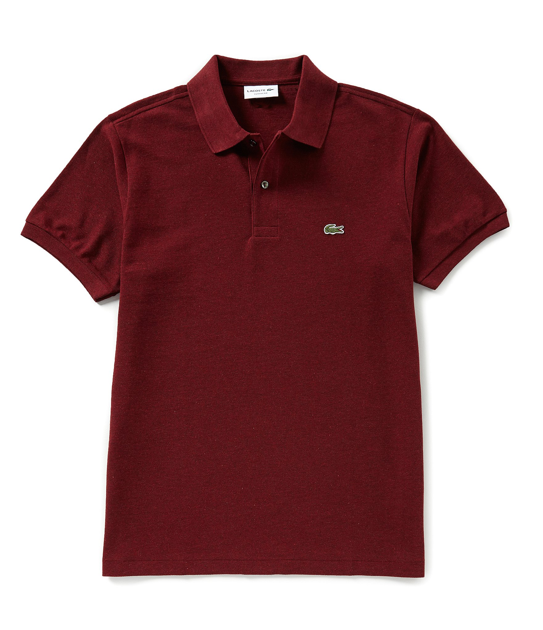nueva productos 58682 4519a Lacoste Classic Chine Short-Sleeve Polo Shirt | Dillard's