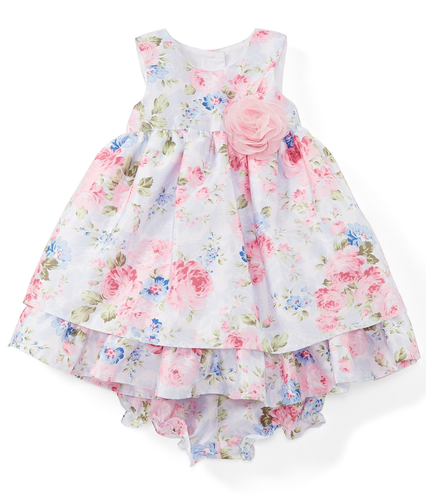 c38d84500cab4 Laura Ashley Baby Girls 12-24 Months Floral Fit-And-Flare Dress | Dillard's