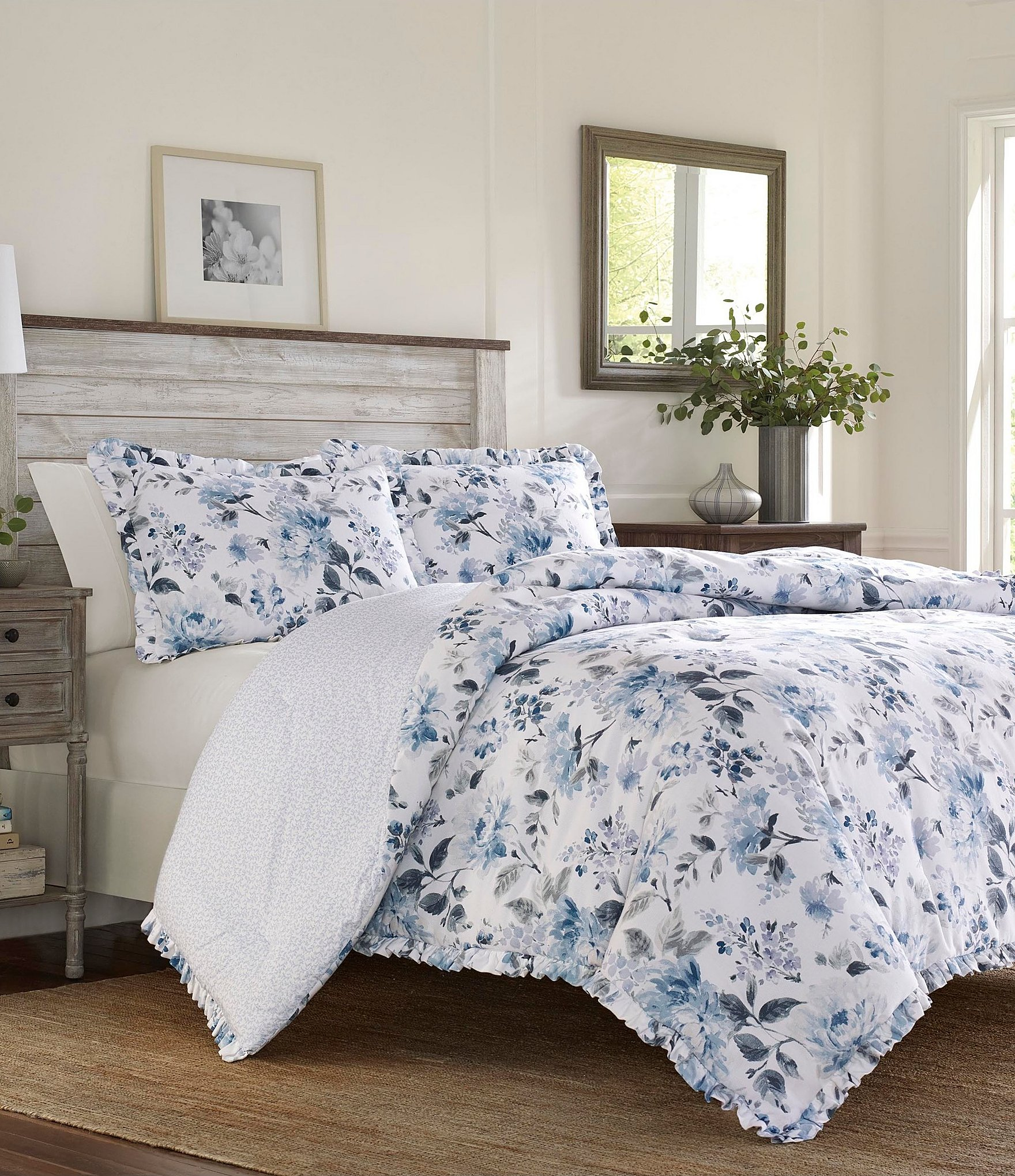Laura Ashley Chloe Cottage Comforter Mini Set Dillard S