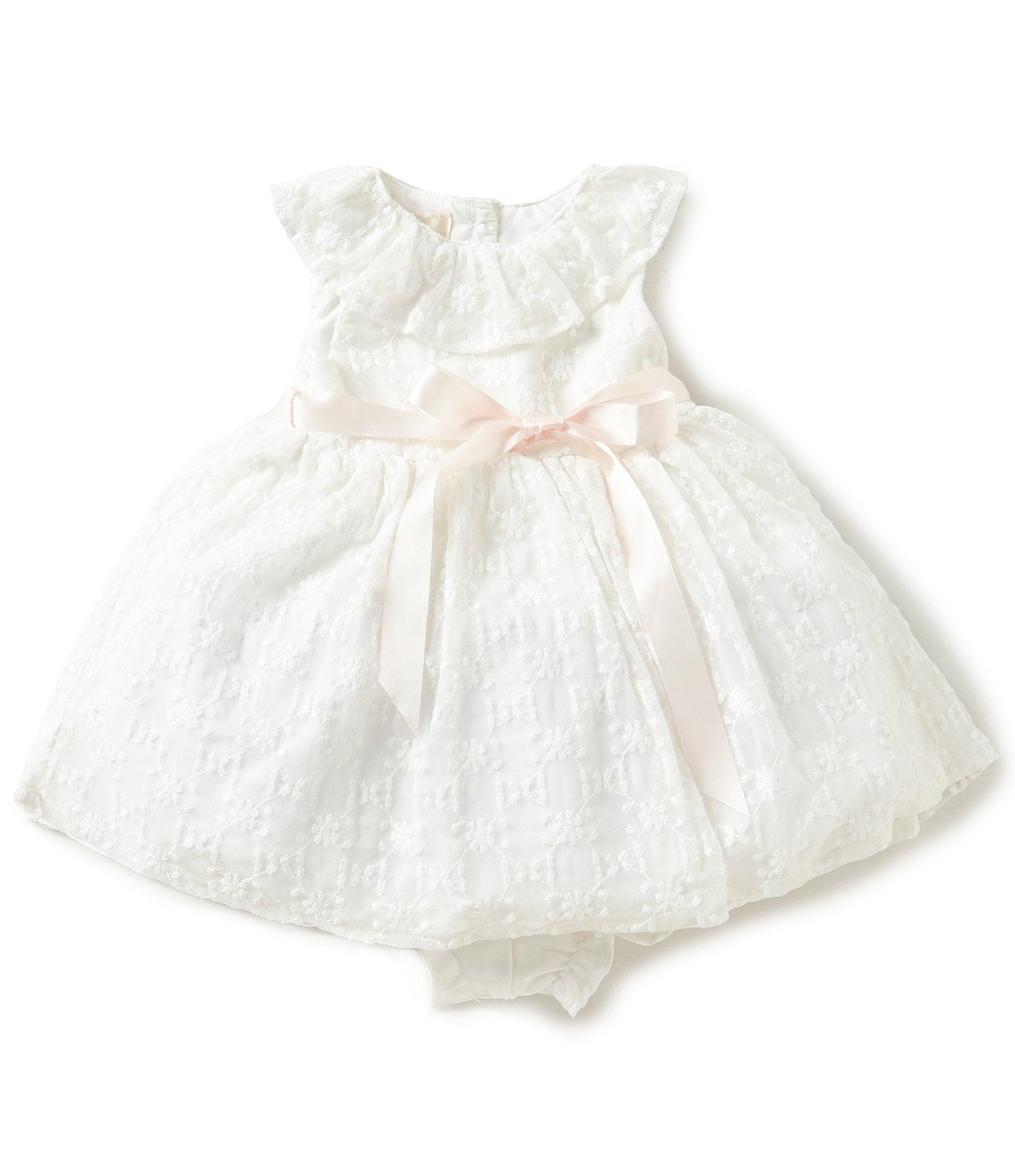 Laura Ashley London Baby Girls 12-24 Months Bow Platter ...