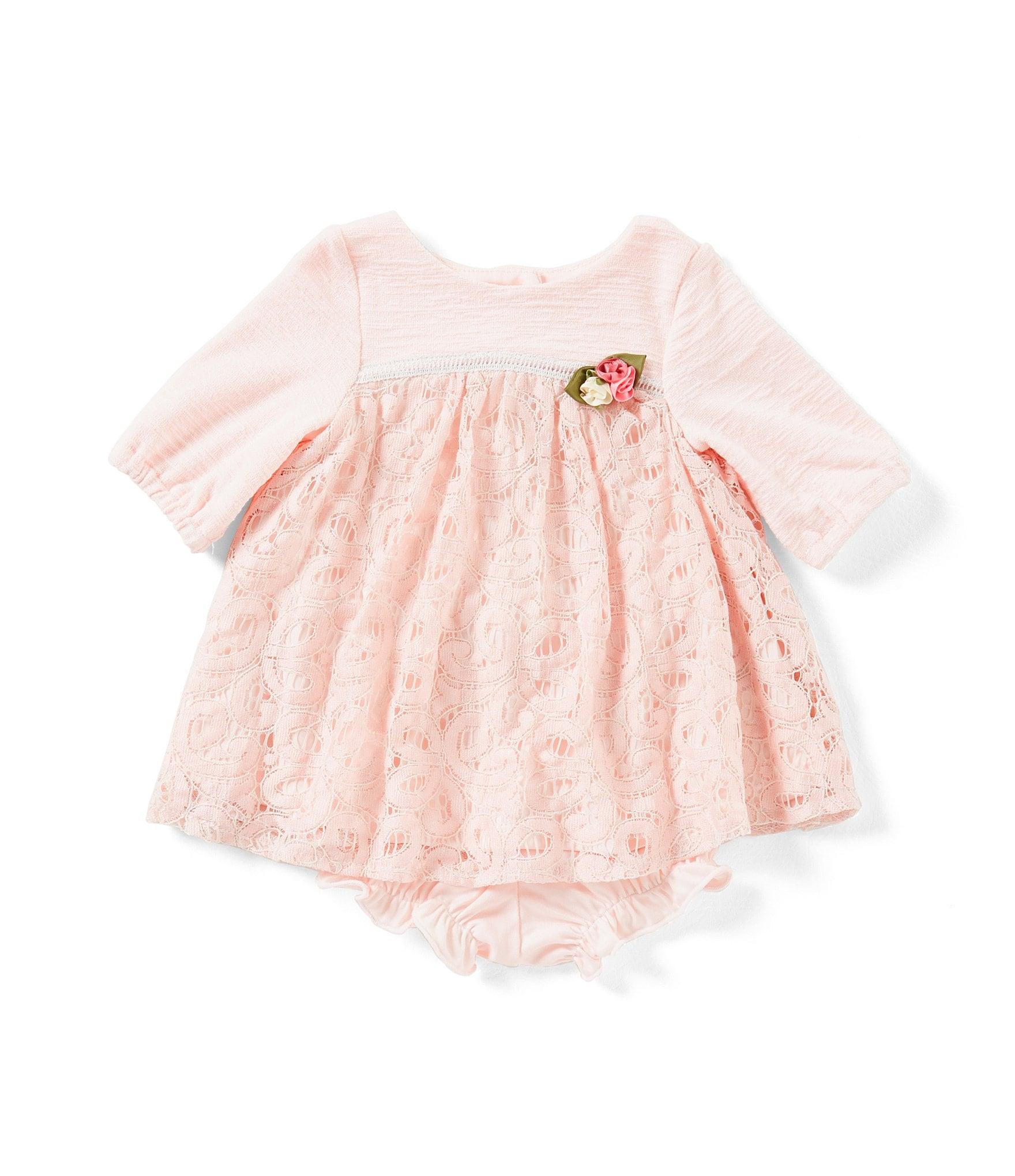 Laura Ashley London Baby Girls Newborn 24 Months Lace 3 4