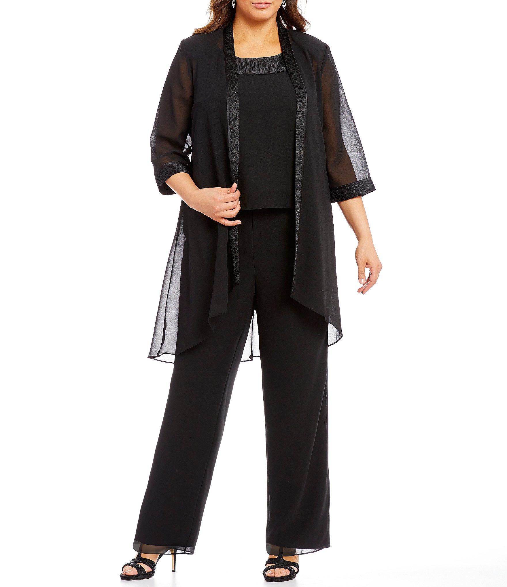 Dillards black dress plus size